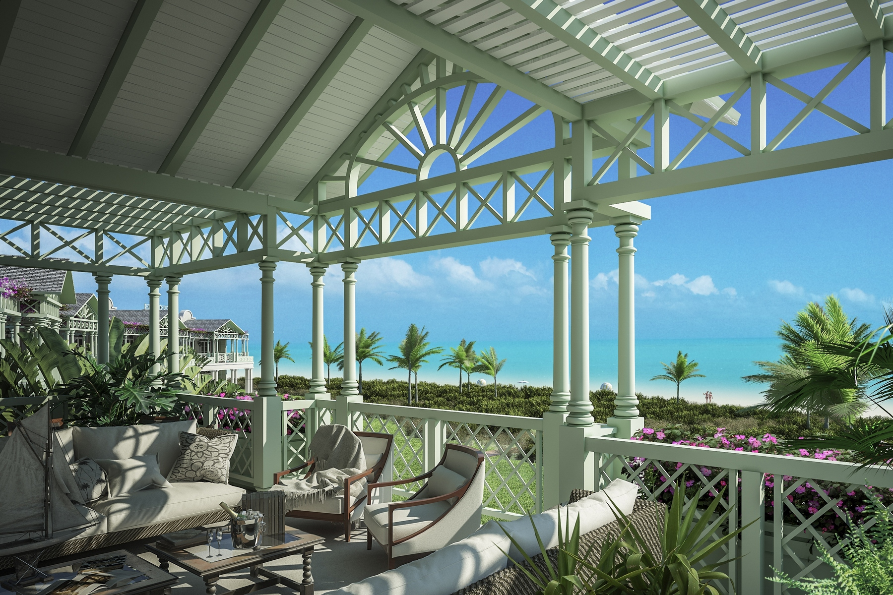 Casa Unifamiliar por un Venta en The Shore Club ~ Villa 4 The Shore Club, Long Bay, Providenciales Islas Turcas Y Caicos