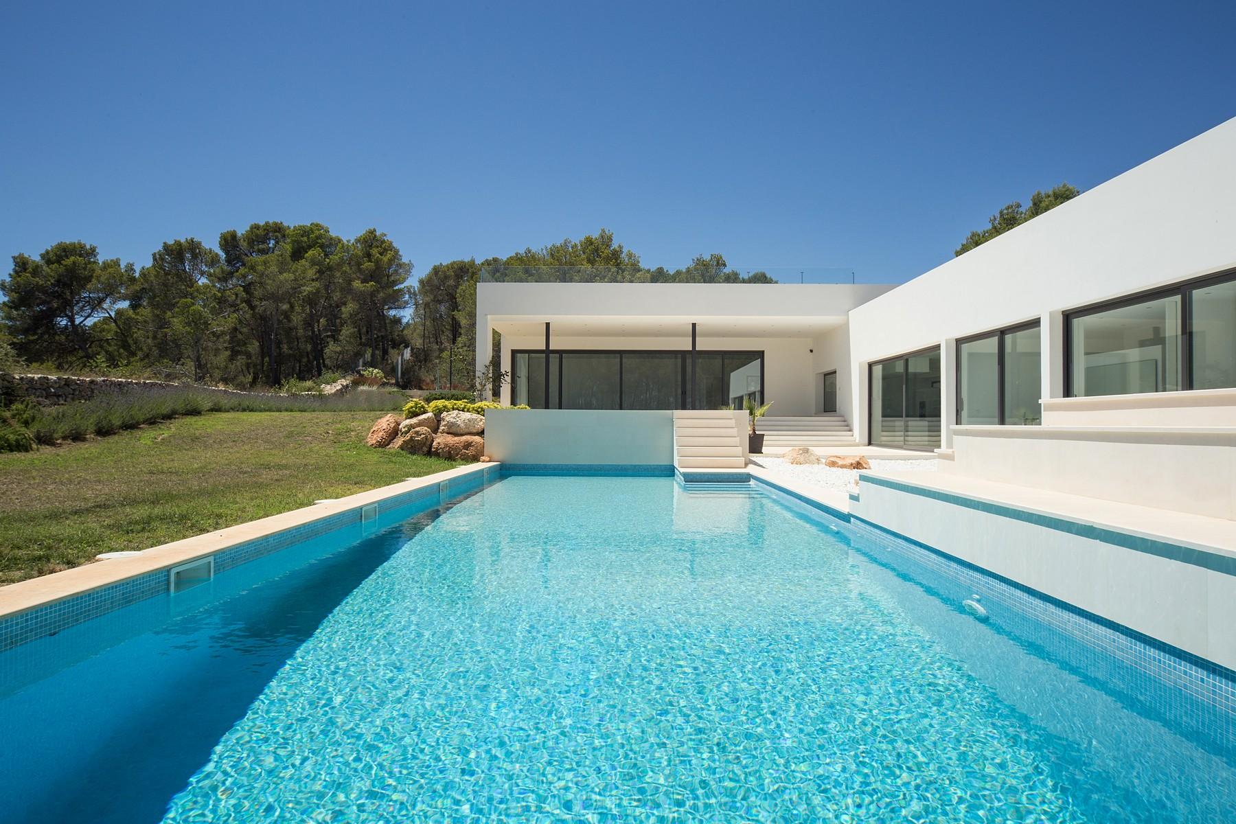 Einfamilienhaus für Verkauf beim Neubau-Villa mit Meerblick in Son Vida Son Vida, C. Lliucamet Son Vida, Mallorca, 0713 Spanien