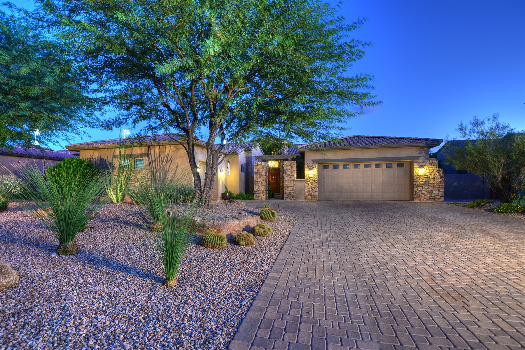 Single Family Home for Sale at Executive Family Home Located In The Gated Scottsdale Community Of Madrid 9979 E Celtic Drive Scottsdale, Arizona 85260 United States