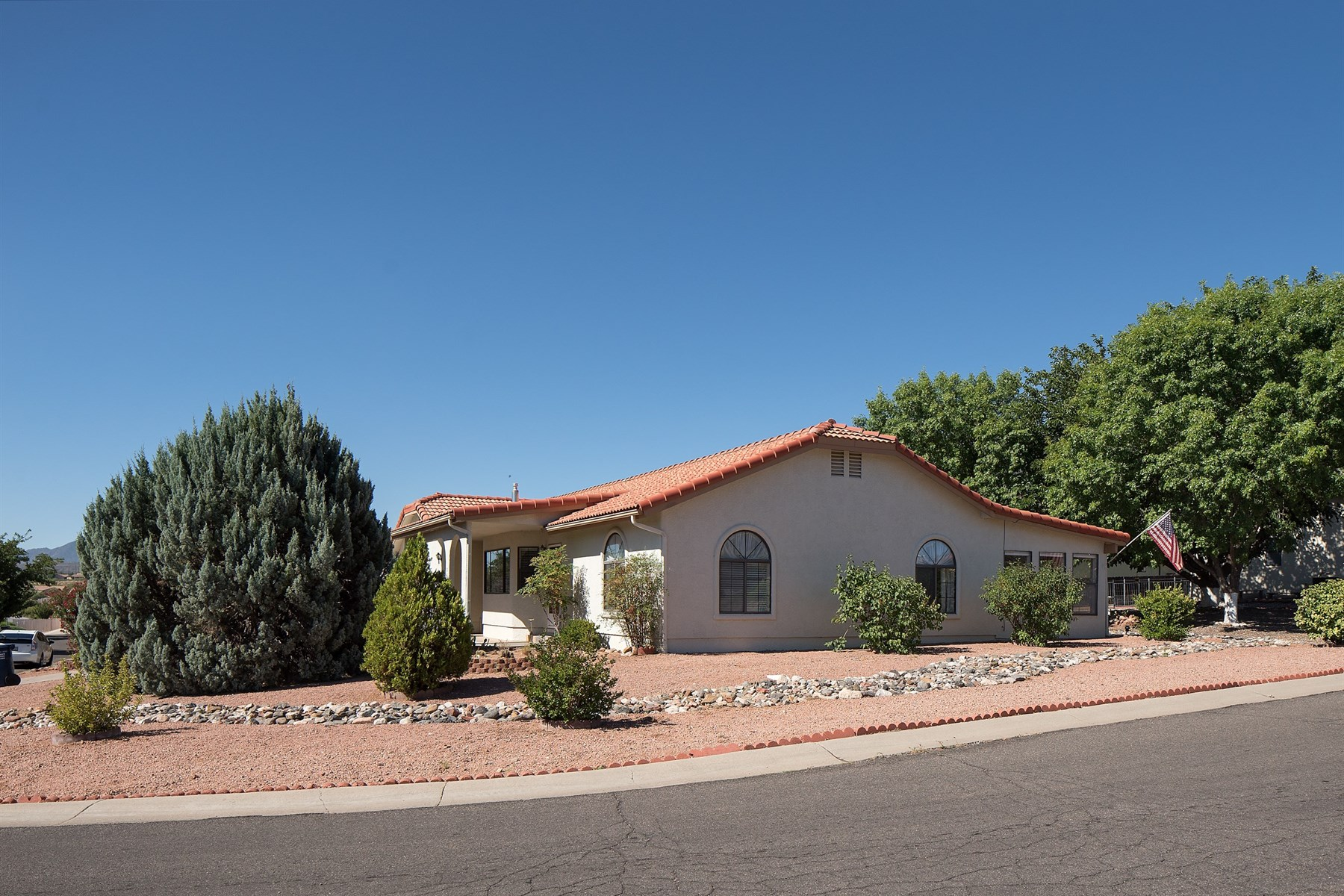 sales property at welcoming home situated on an attractive corner lot