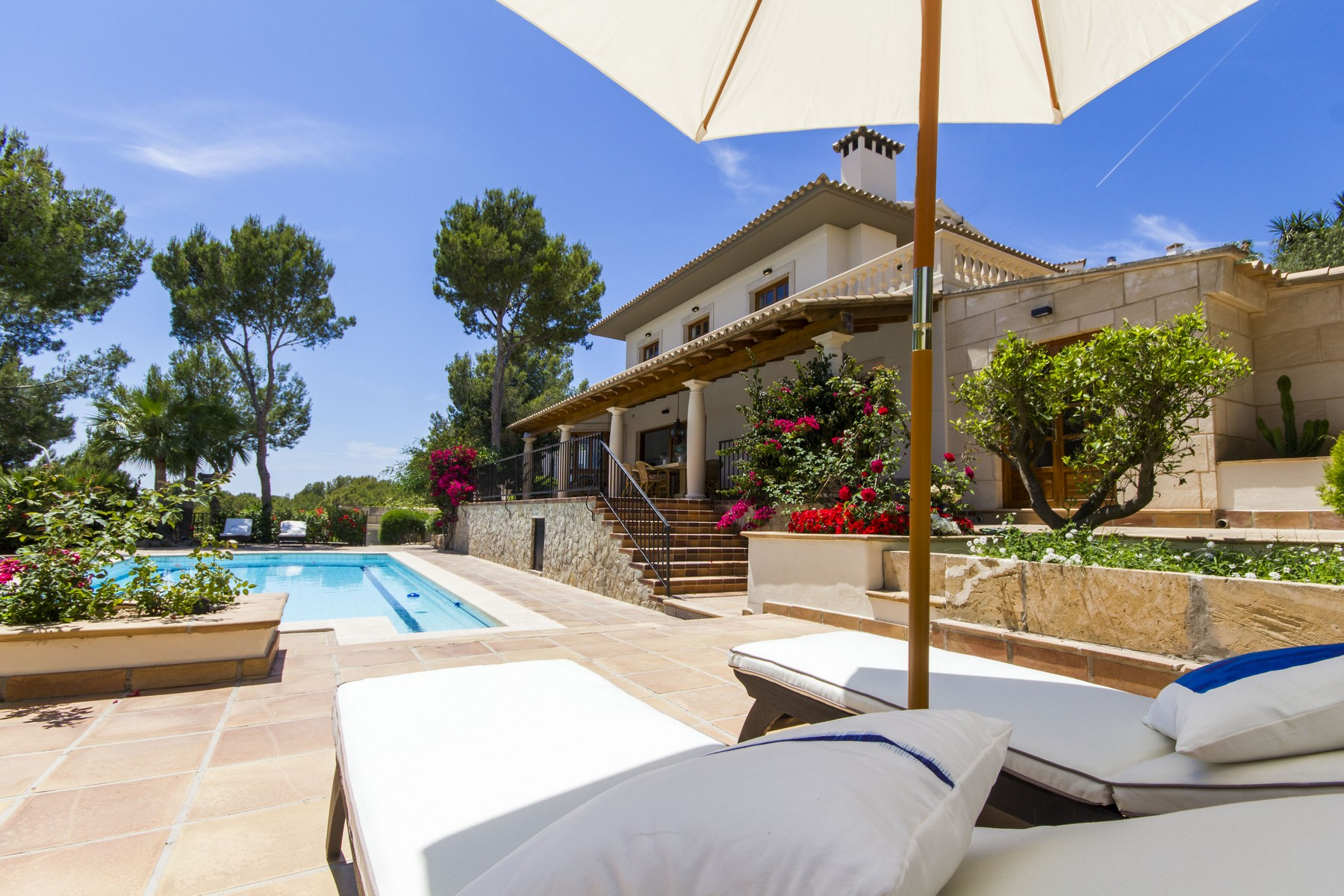 Property Of Comfortable villa in Cas Catala
