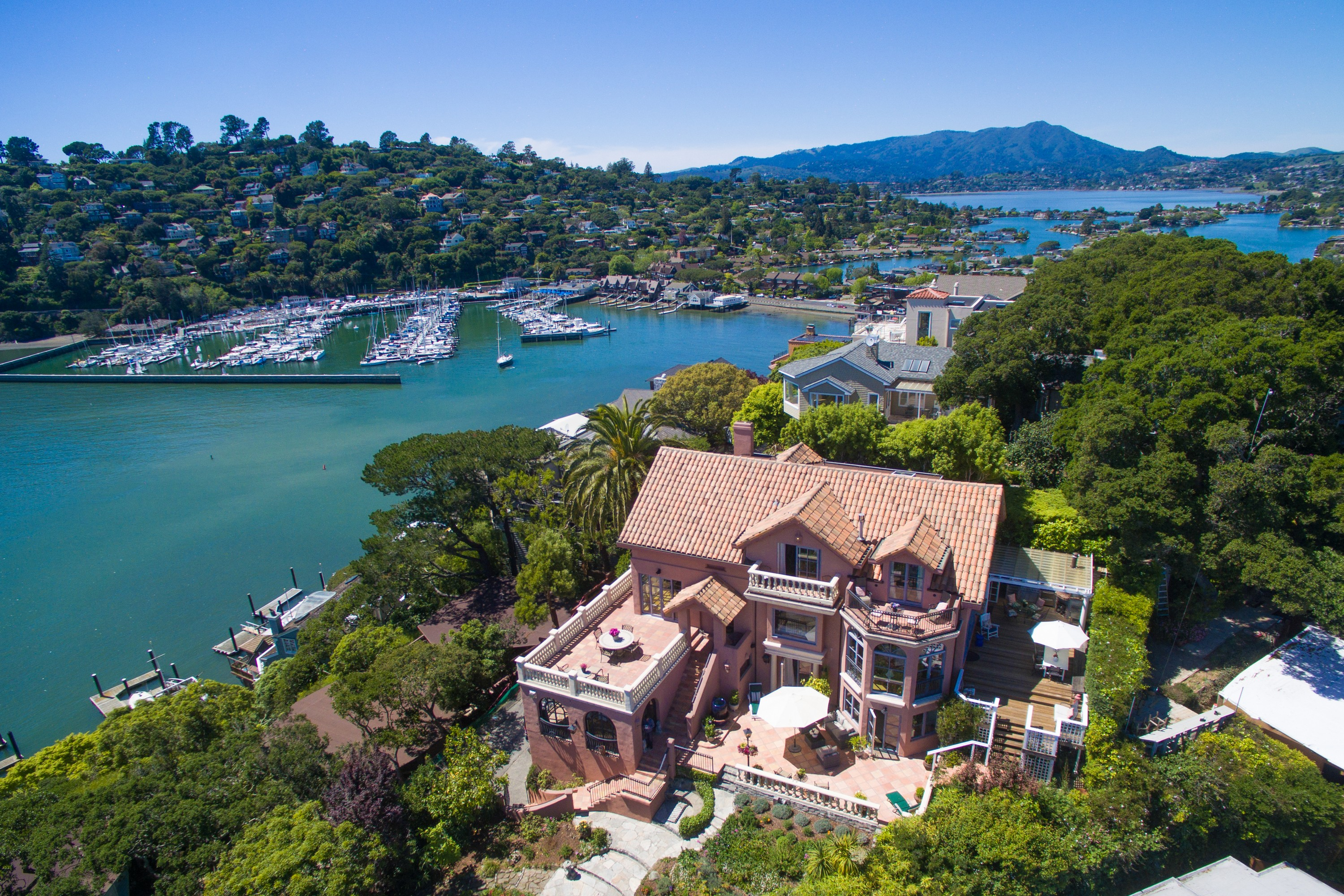 Single Family Home for Sale at Crown Jewel 80 Alcatraz Avenue Belvedere, California, 94920 United States