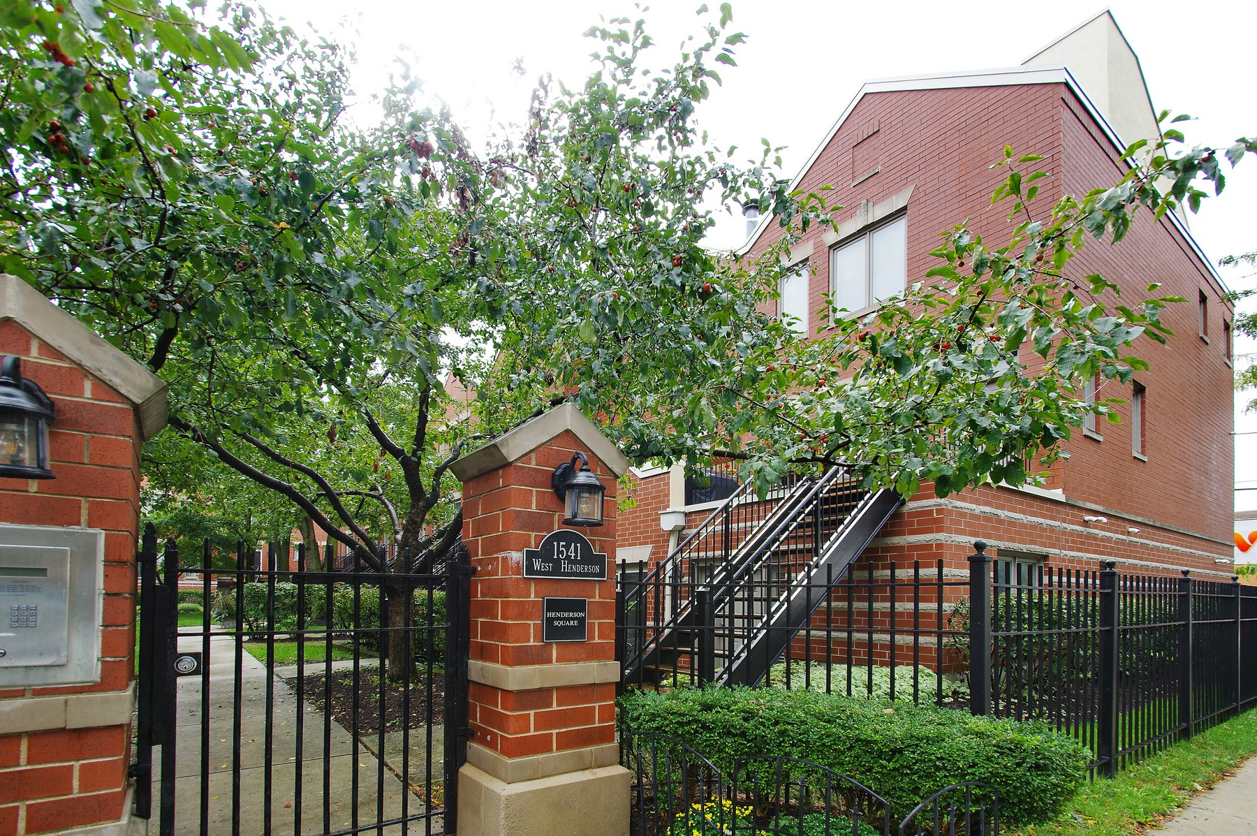 Condominium for Sale at End Unit at Henderson Square 1541 W Henderson Street Unit A Chicago, Illinois, 60657 United States