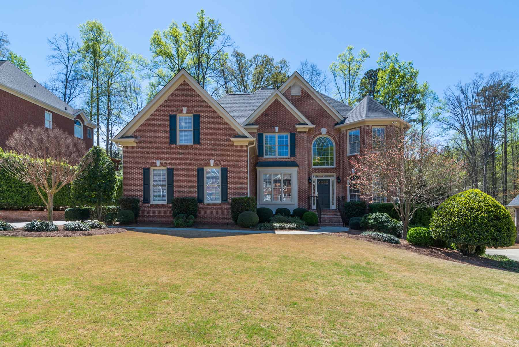 Single Family Home for Sale at Brick Traditional in Three Chimneys Farm 4285 Woodward Way Cumming, Georgia, 30041 United States
