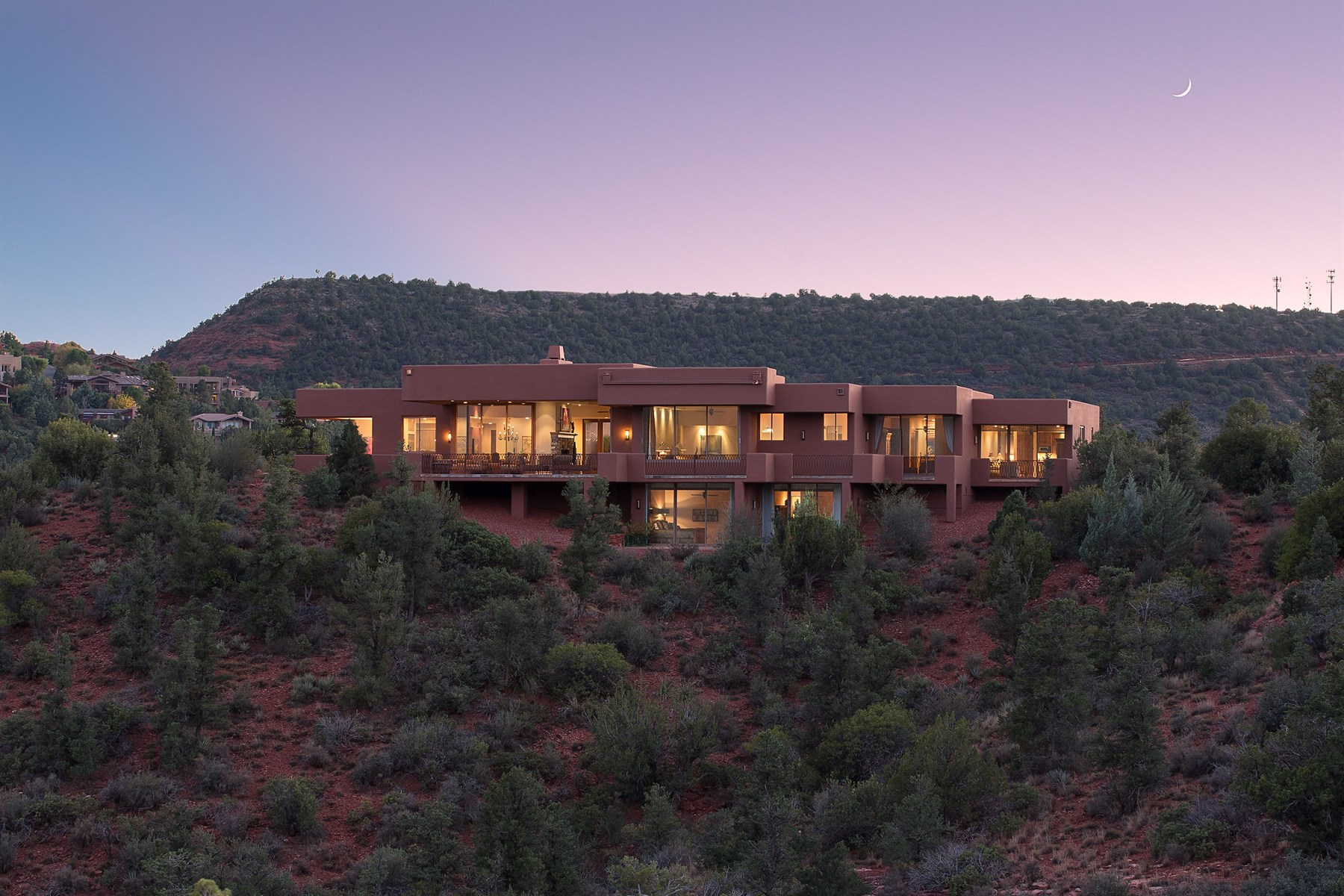 Property For Sale at Remarkable contemporary Sedona home