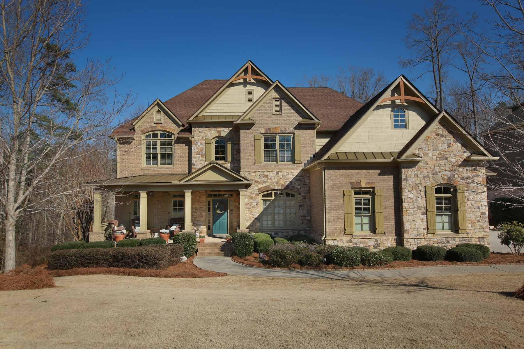 Casa Unifamiliar por un Venta en Luxurious Lake Living 6115 Windjammer Point Cumming, Georgia, 30041 Estados Unidos