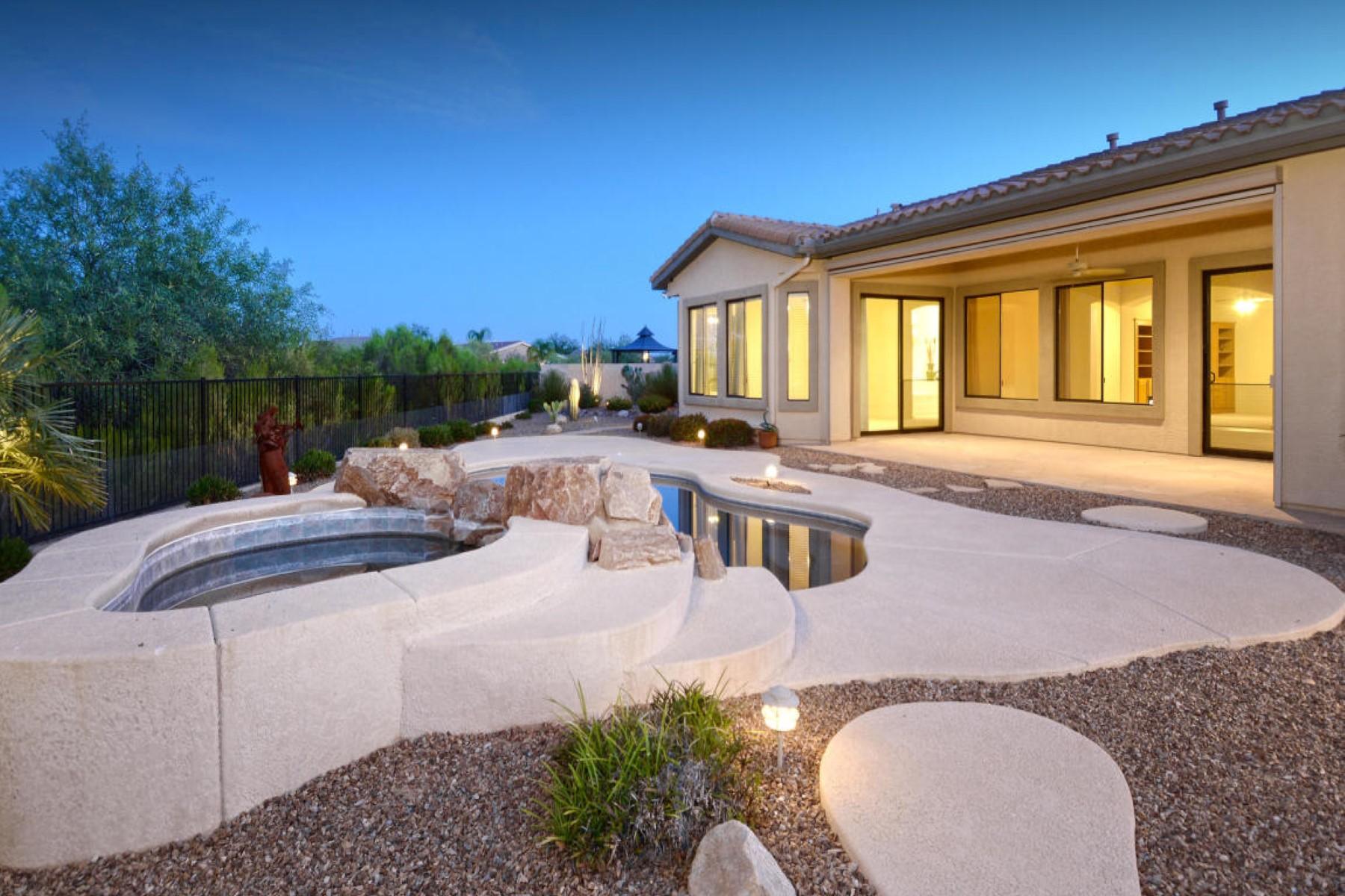 Moradia para Venda às Oro valley dream amazing home on premium east facing lot 11964 N THORNBUSH Drive Oro Valley, Arizona 85737 Estados Unidos