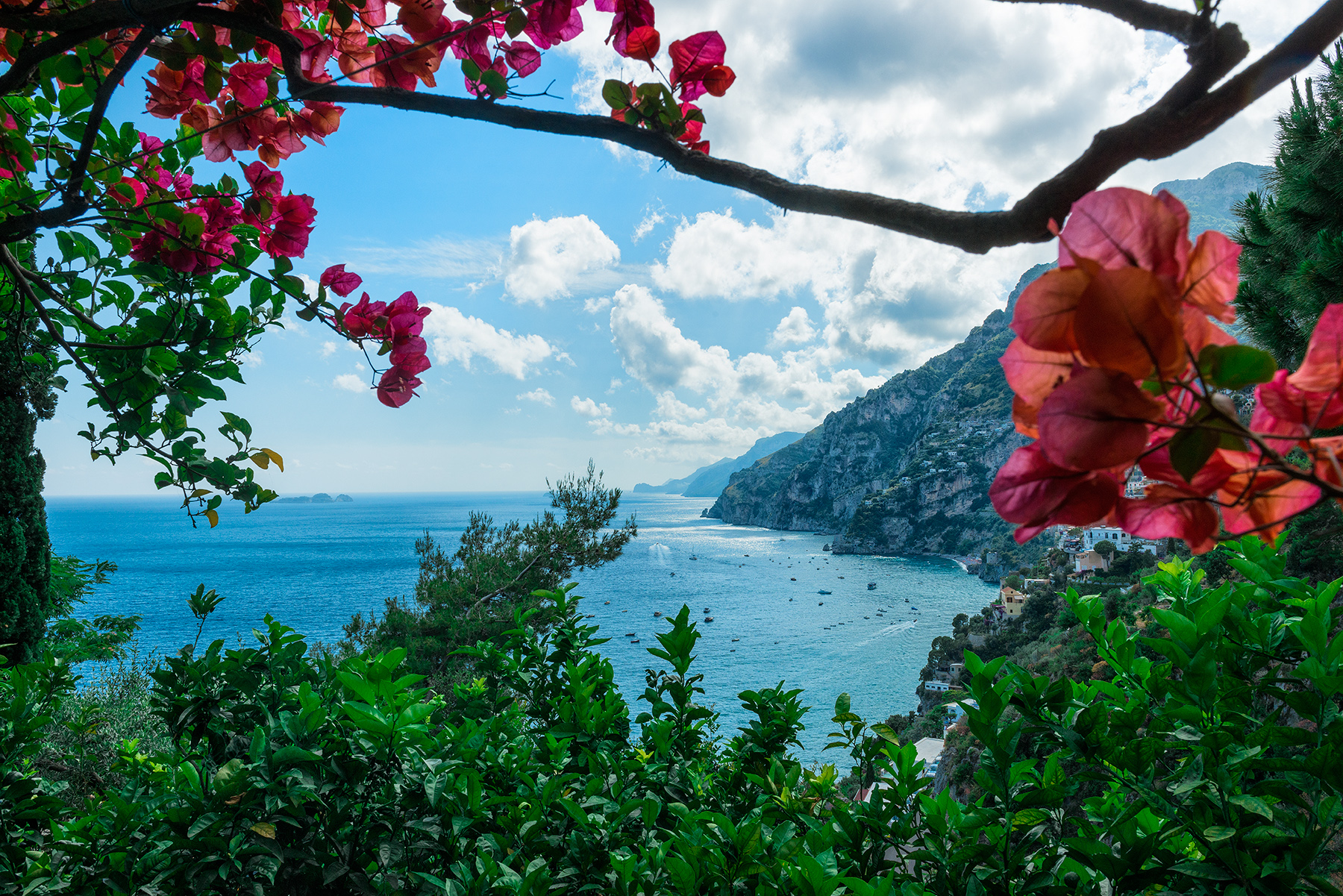 Additional photo for property listing at Exclusive panoramic villa in Positano Positano, Salerno Italie