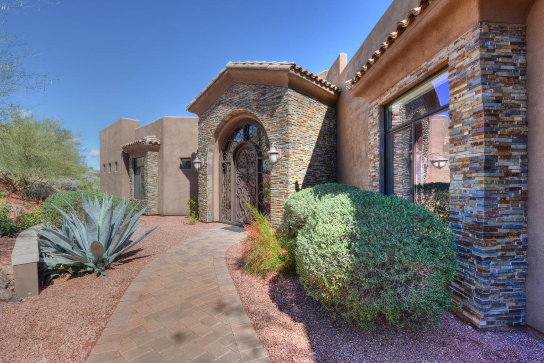 Single Family Home for Sale at Nestled for privacy in the exclusive community of FireRock Country Club 16044 E Stare Gaze Trl Fountain Hills, Arizona, 85268 United States