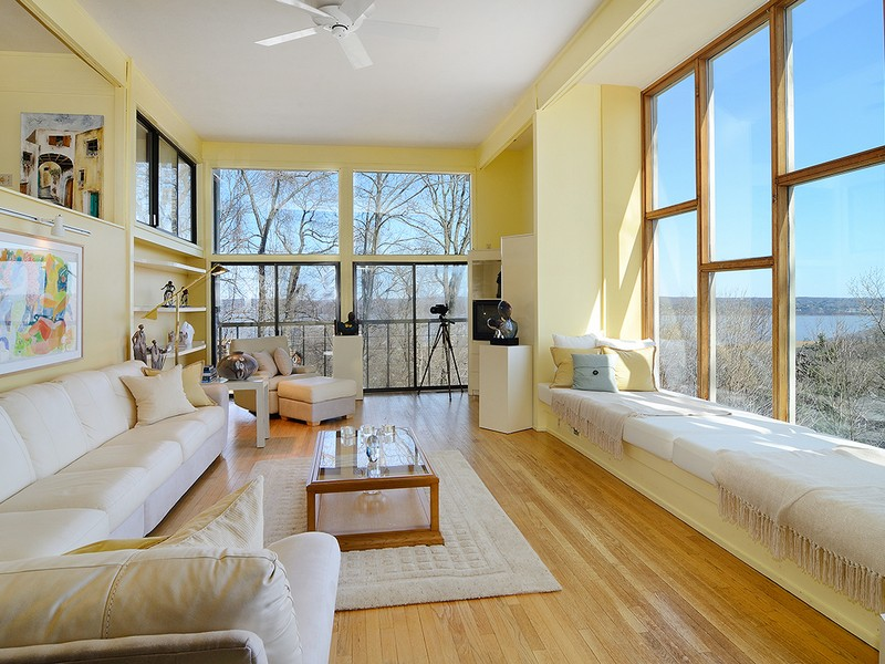 Casa para uma família para Venda às Spectacular River View Contemporary 292 Tweed Blvd. Piermont, Nova York, 10968 Estados Unidos