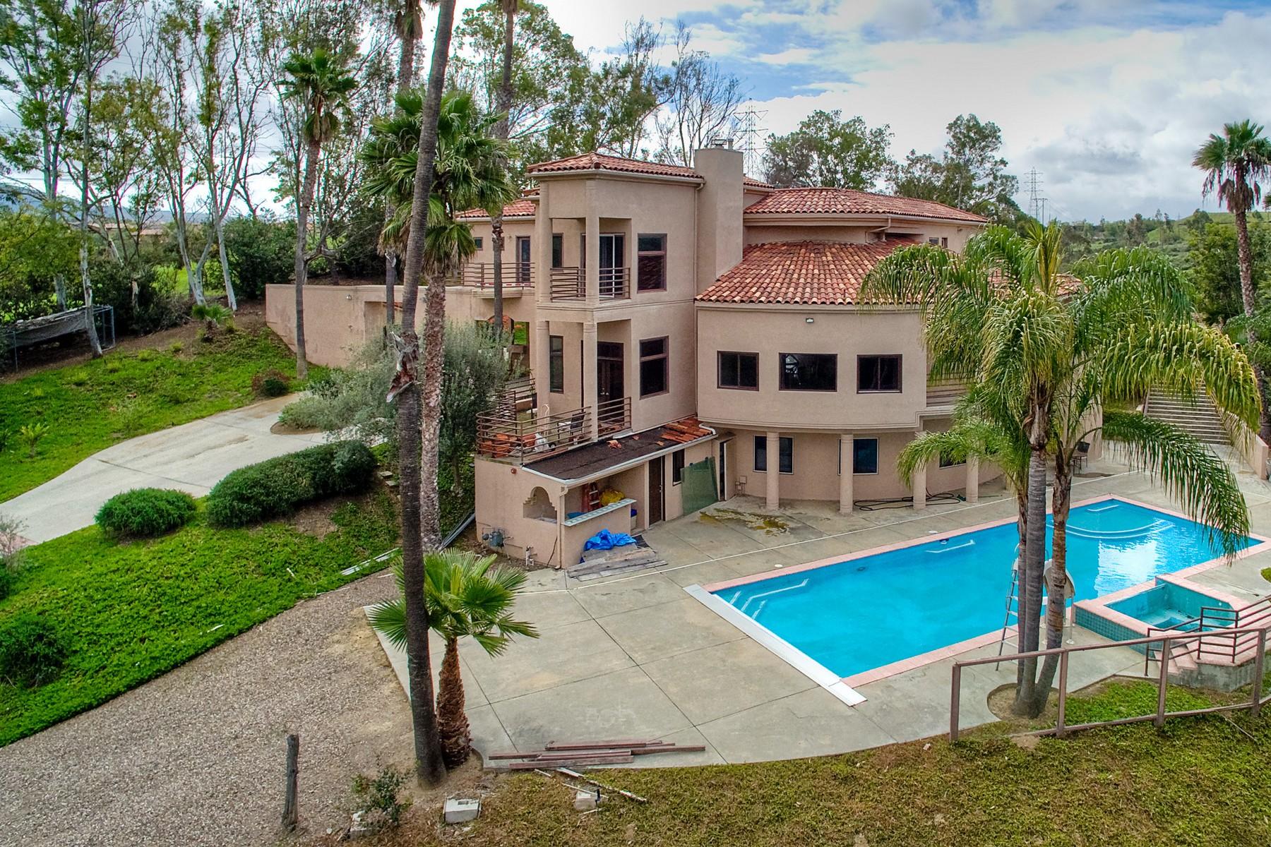 Maison unifamiliale pour l Vente à 17398 Calle Serena Rancho Santa Fe, Californie, 92067 États-Unis