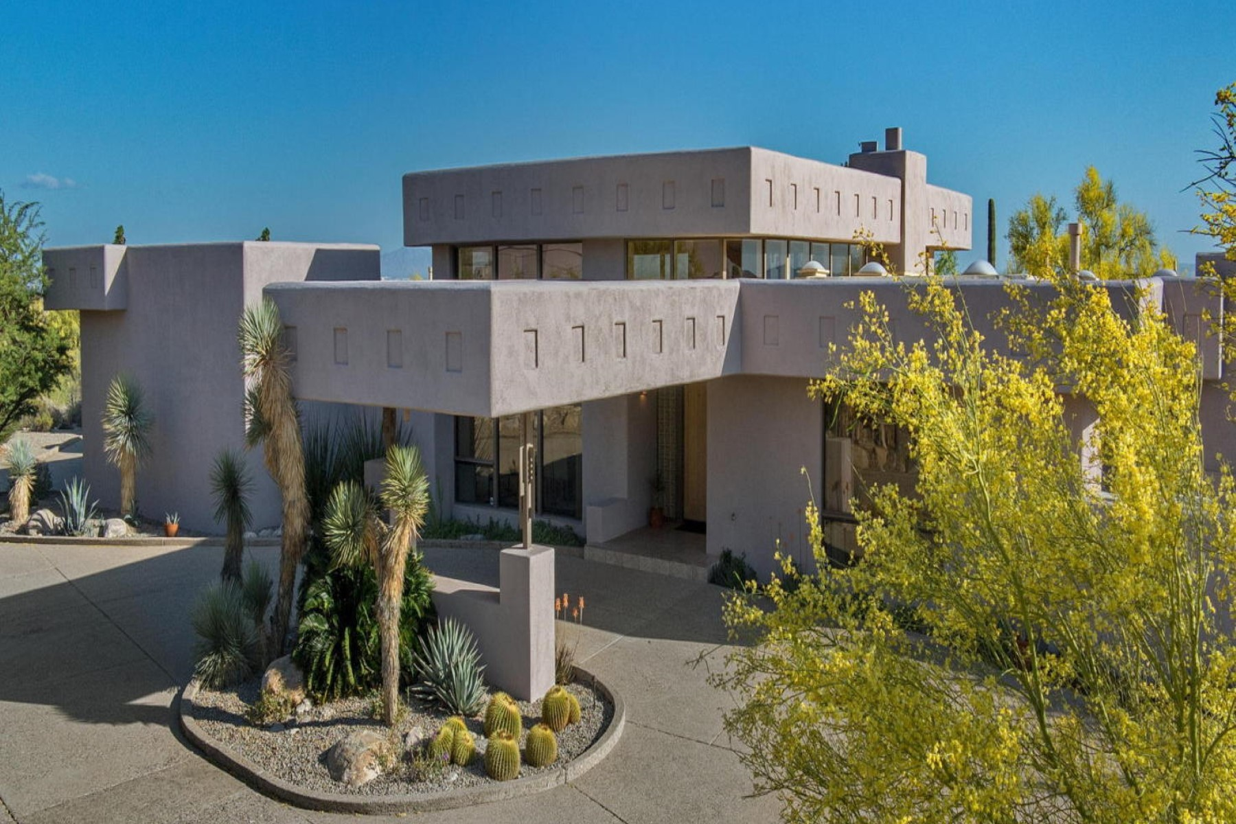 Single Family Home for Sale at Spectacular desert contemporary home designed by Tyson 5783 N Placita Juan Paisano Tucson, Arizona, 85718 United States