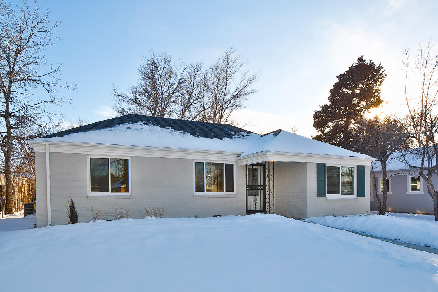 Single Family Home for Sale at Sophisticated Renovation Great Style and Taste 6920 East 5th Avenue Denver, Colorado 80220 United States