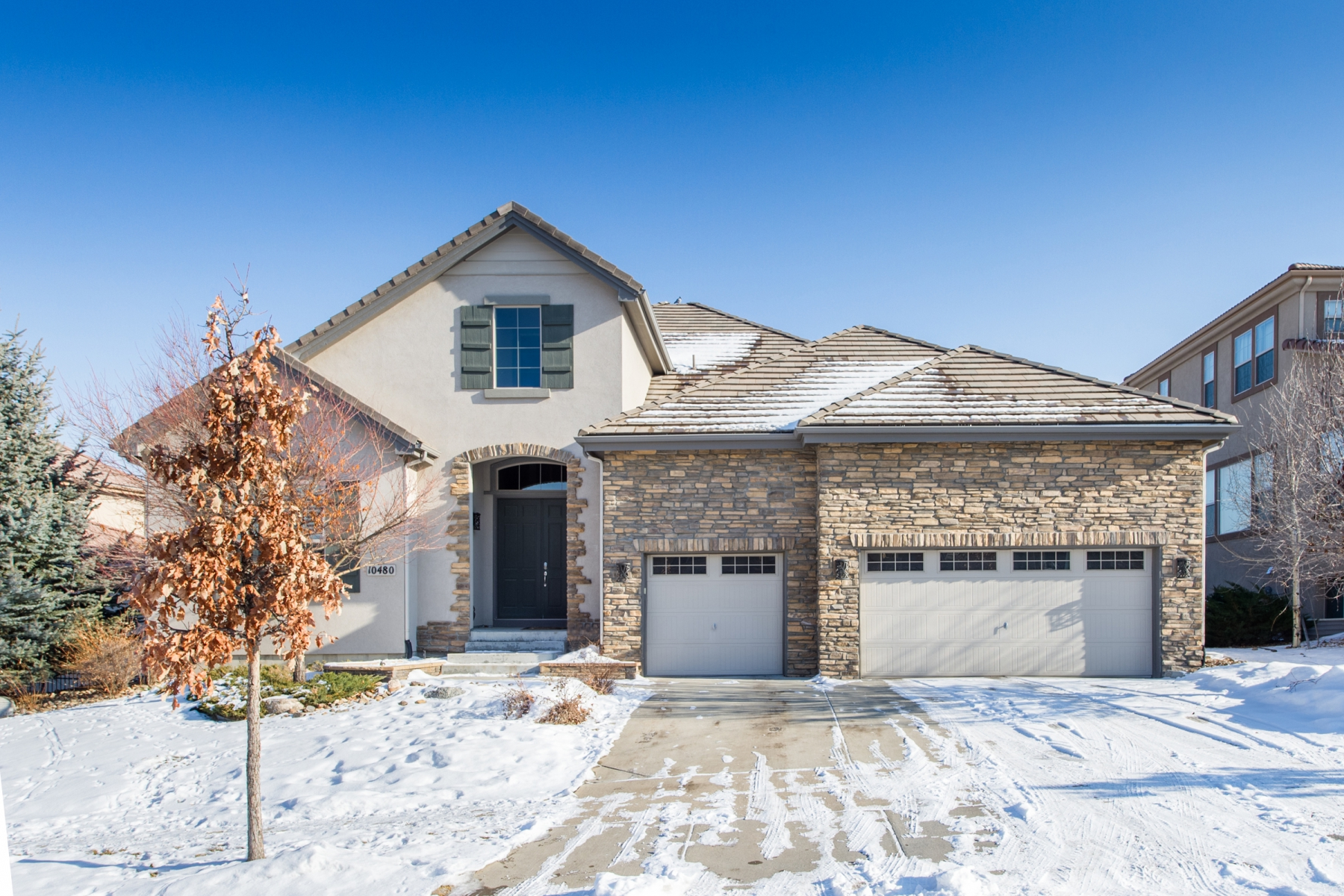 Single Family Home for Active at 10480 W Rivington Ct Lone Tree, Colorado 80124 United States