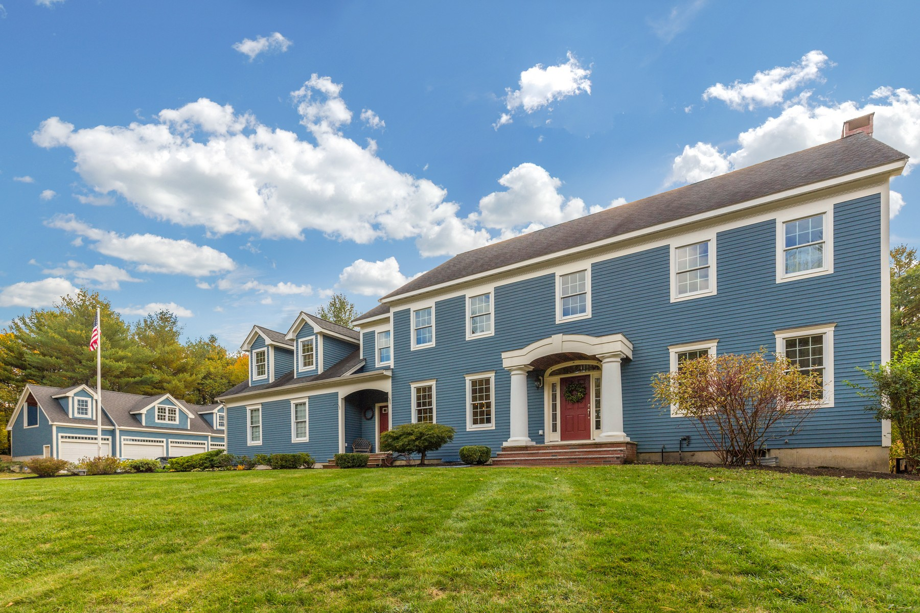 sales property at Stately Topsfield Colonial