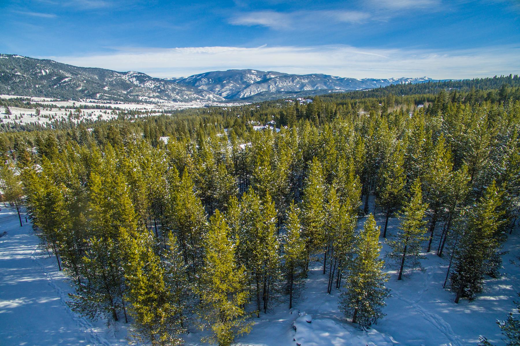 Terreno por un Venta en Aspen Groves Homesite West Pine Cone Terrace, Lot 25 Big Sky, Montana, 59716 Estados Unidos