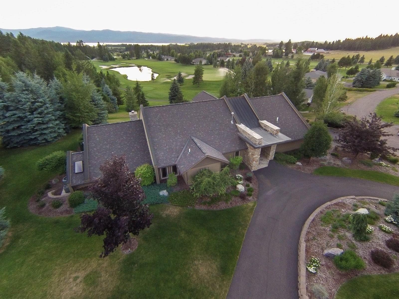 獨棟家庭住宅 為 出售 在 108 Levi Court Bigfork, 蒙大拿州, 59911 美國