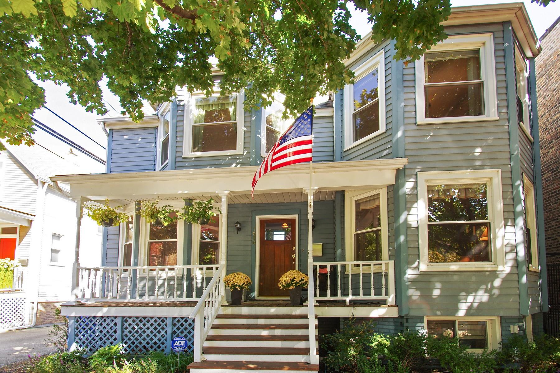 Moradia para Venda às Charming and Updated Home 1610 W Carmen Avenue Edgewater, Chicago, Illinois, 60640 Estados Unidos