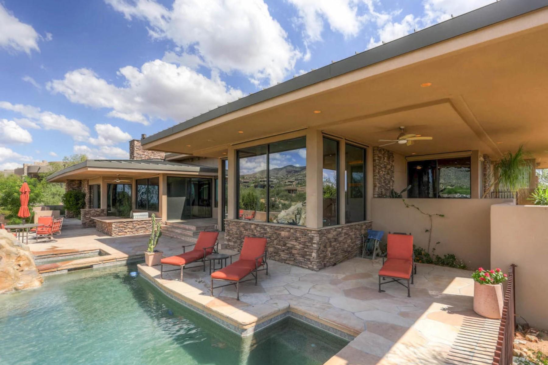 단독 가정 주택 용 매매 에 Impeccably maintained home in Desert Mountain 11212 E Mesquite Dr Scottsdale, 아리조나, 85262 미국
