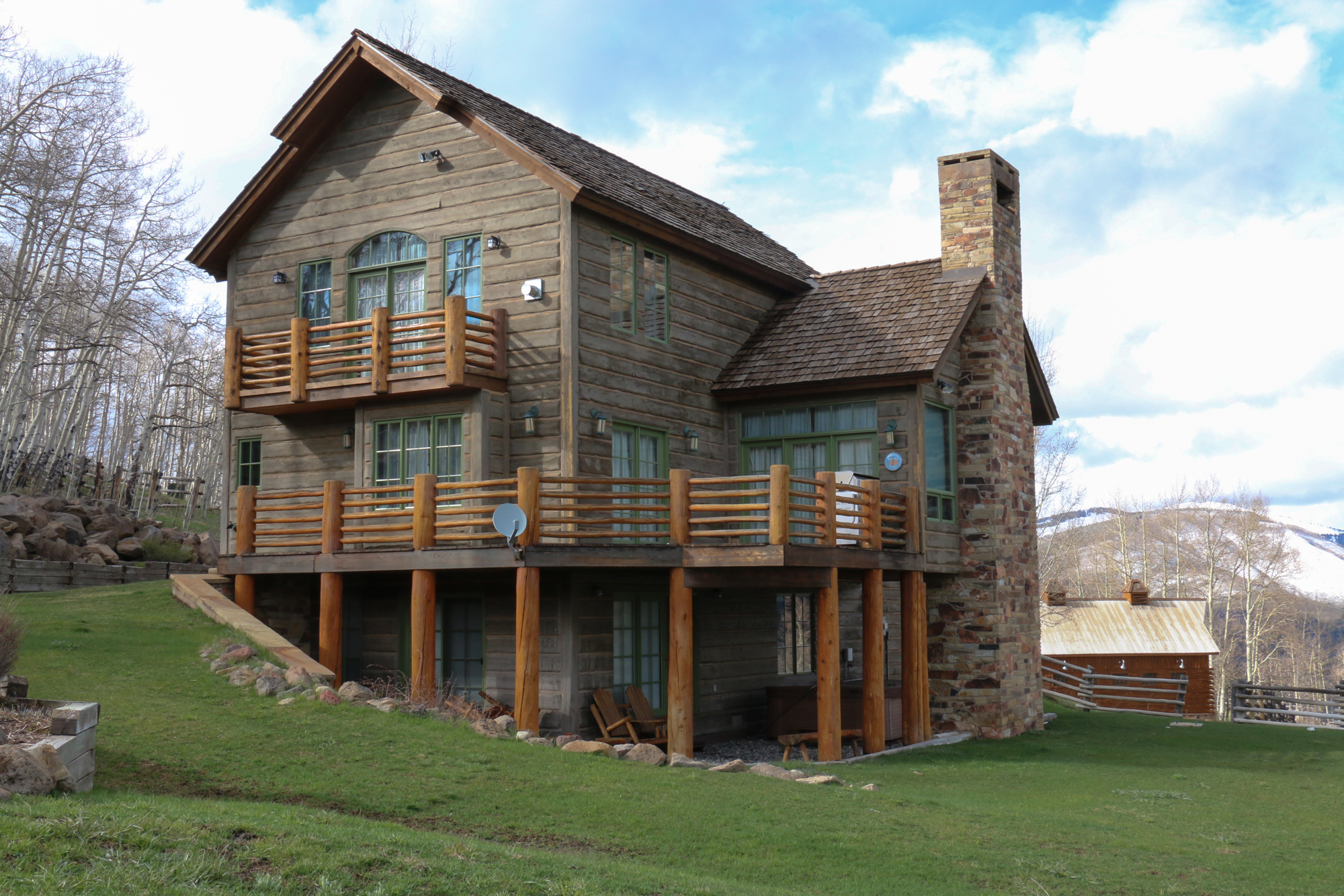 Single Family Home for Sale at Ranch on Red Mountain 455 Oversteeg Gulch Road Crested Butte, Colorado 81224 United States