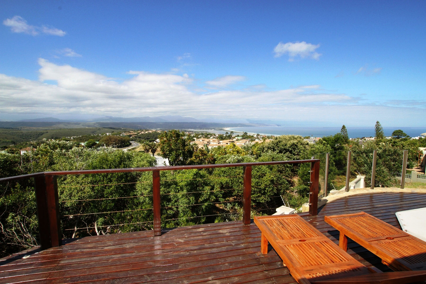 Maison unifamiliale pour l Vente à Home with great views Plettenberg Bay, Cap-Occidental, 6600 Afrique Du Sud