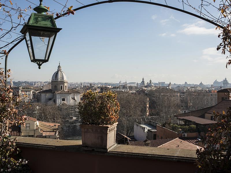 아파트 용 매매 에 Duplex Penthouse with stunning views of the eternal city Salita di Sant'onofrio Rome, 로마 00165 이탈리아