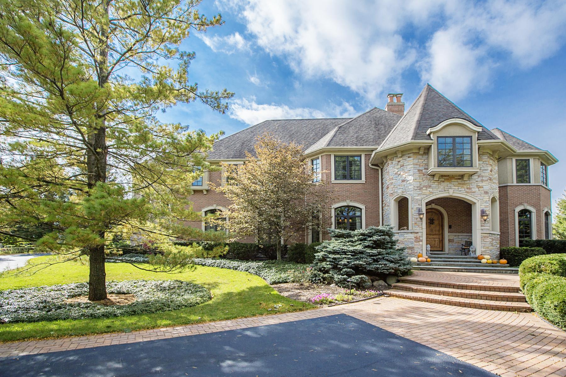 Nhà ở một gia đình vì Bán tại The Estate at 16 Vandenbergh 16 Vandenbergh Drive South Barrington, Illinois 60010 Hoa Kỳ