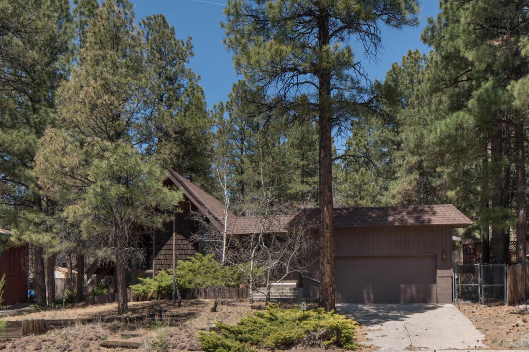 Single Family Home for Sale at Unique single story home 1500 E Linda Vista Dr Flagstaff, Arizona, 86004 United States