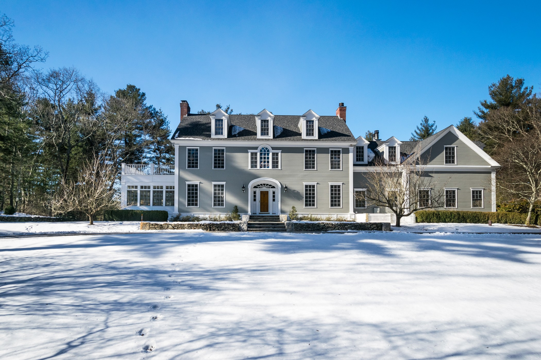 Property For Sale at Stately Colonial Near The Concord Line