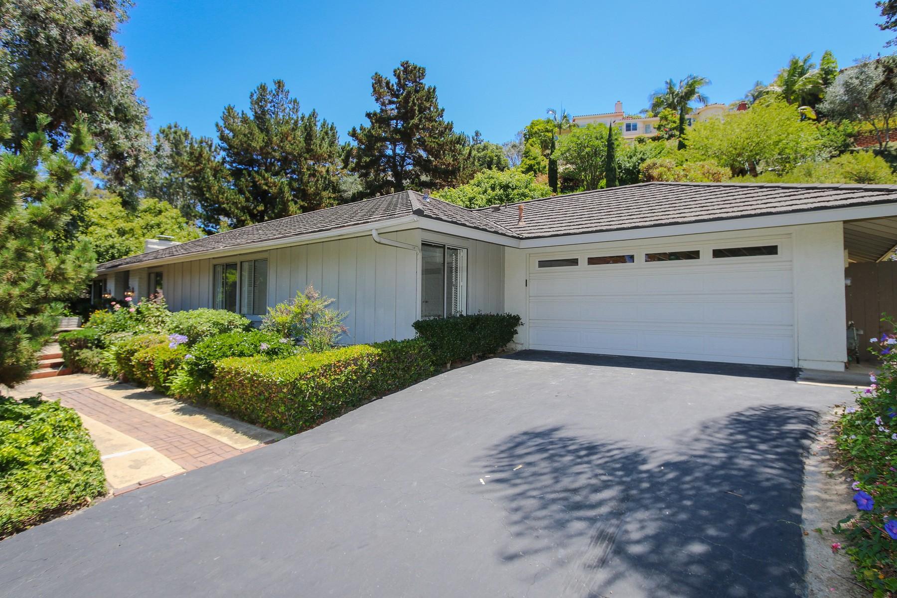 Casa Unifamiliar por un Venta en 2730 Caminito Prado La Jolla, California CA Estados Unidos