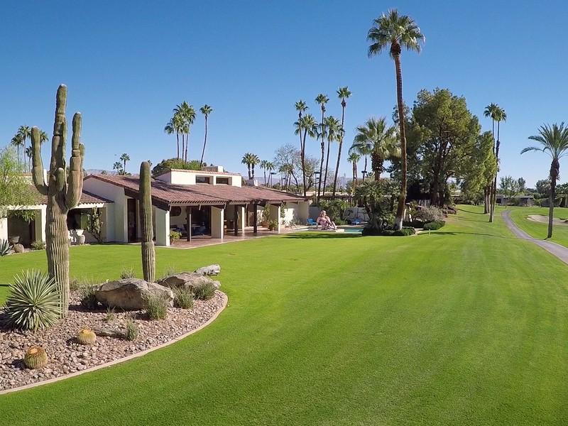 Maison unifamiliale pour l Vente à 71051 Tamarisk Lane Rancho Mirage, Californie 92270 États-Unis