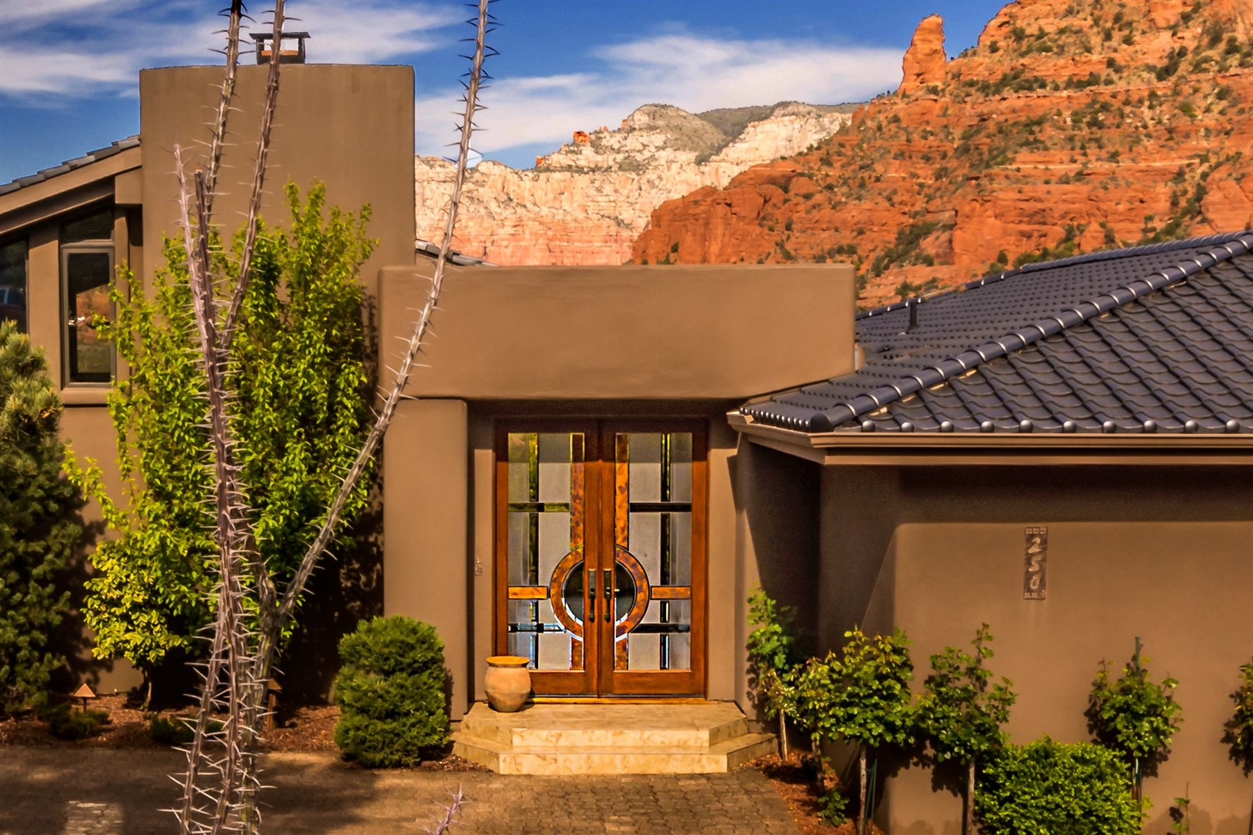 sales property at Beautiful home with the best Sedona views