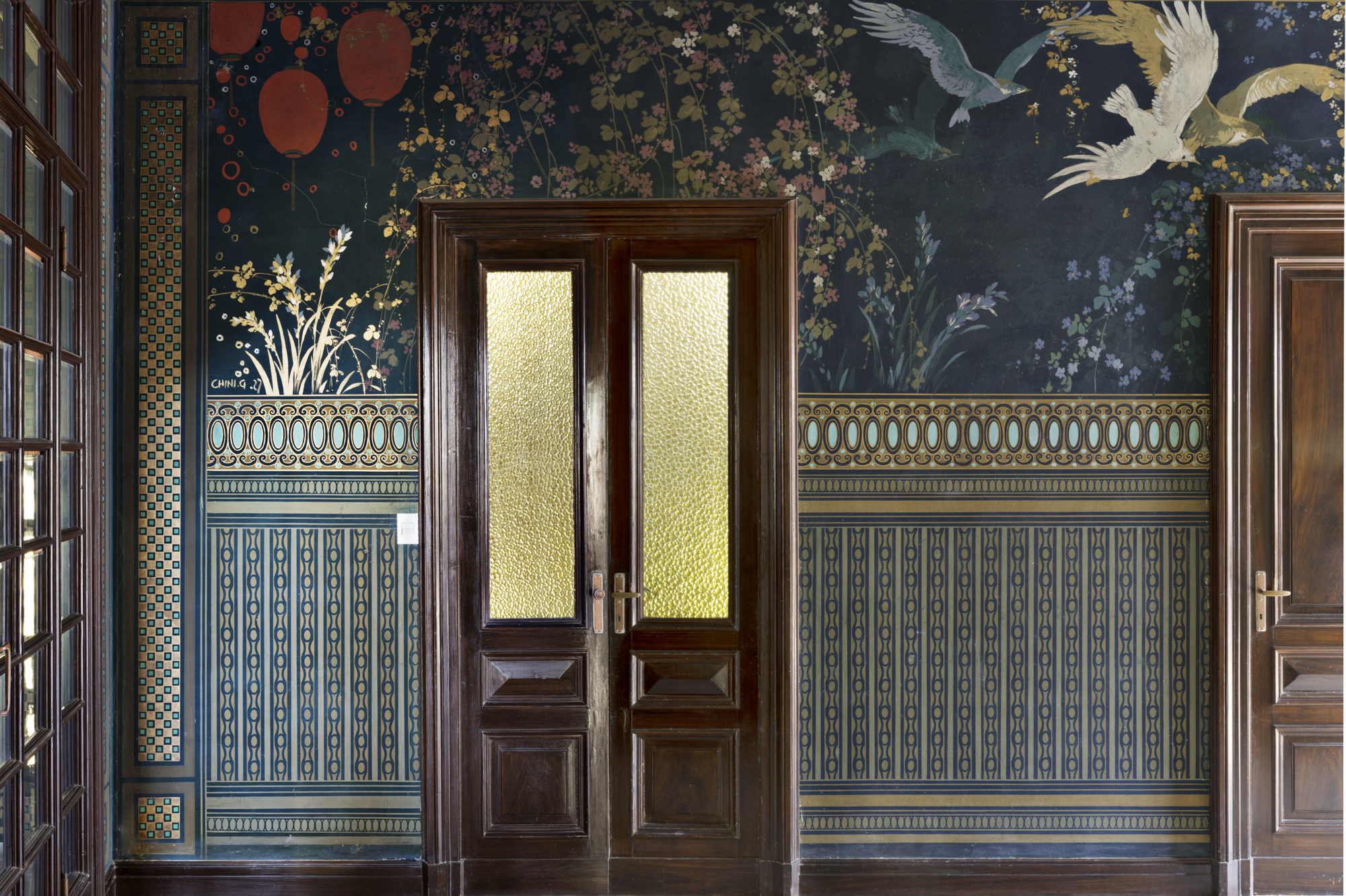 Additional photo for property listing at Beautiful Art Nouveau villa viale 1° Maggio Salsomaggiore Terme, Parma 43125 Italy