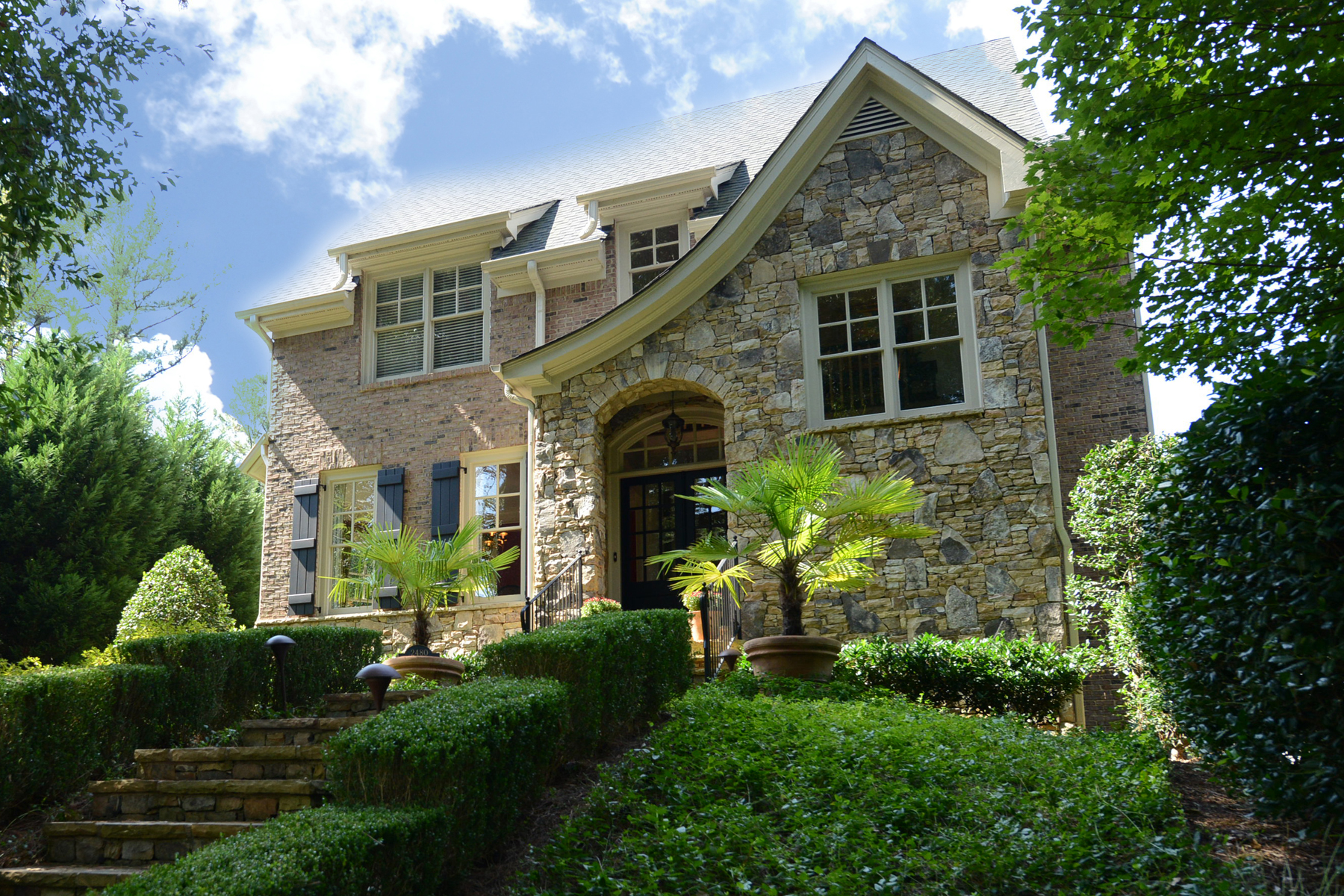 Single Family Home for Active at Total Perfection Throughout This Custom Built Home 2480 Ridgewood Road NW Atlanta, Georgia 30318 United States