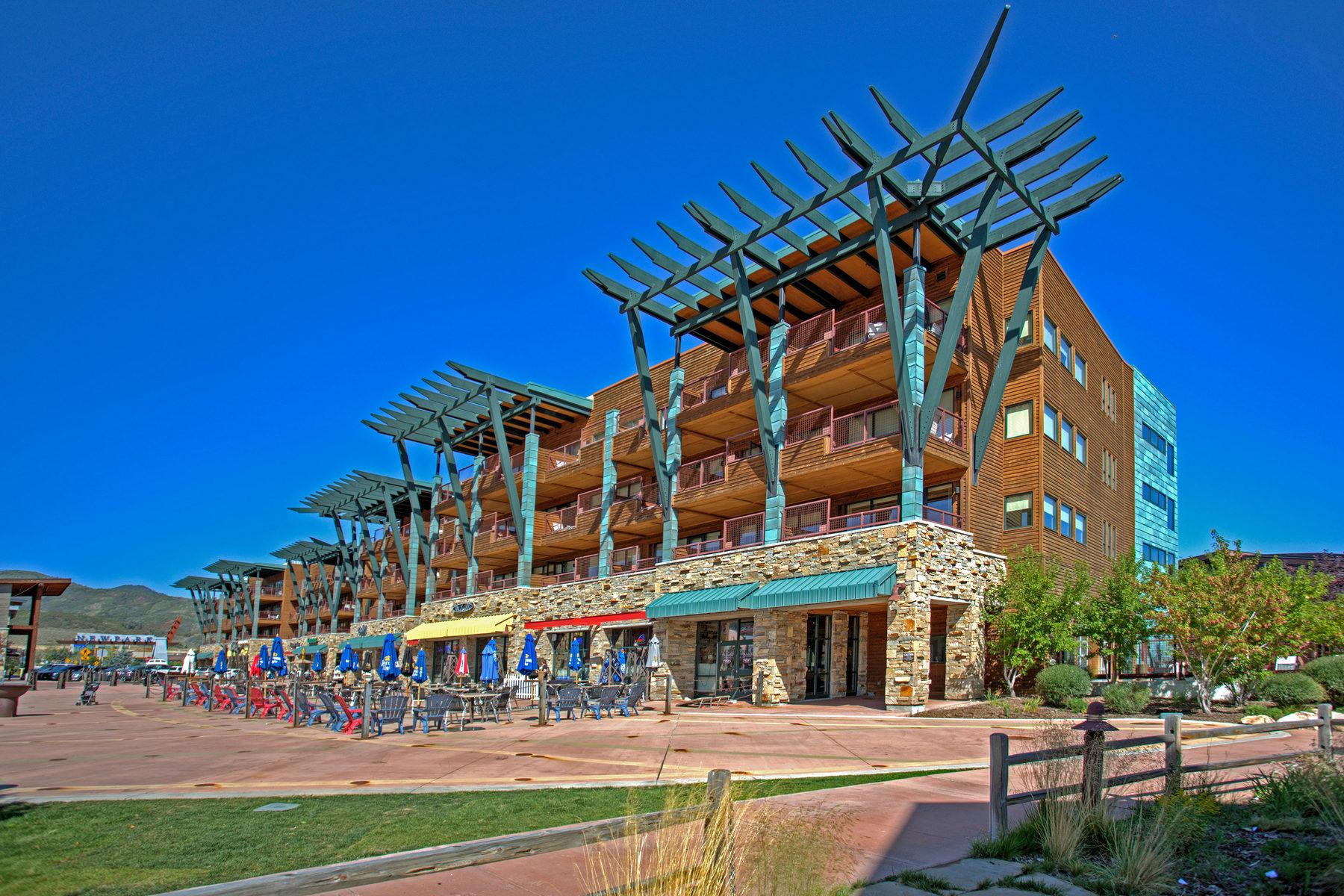 Condominium for Sale at Rare Blackwood Corner Unit 1456 Newpark Blvd #323 Park City, Utah 84098 United States