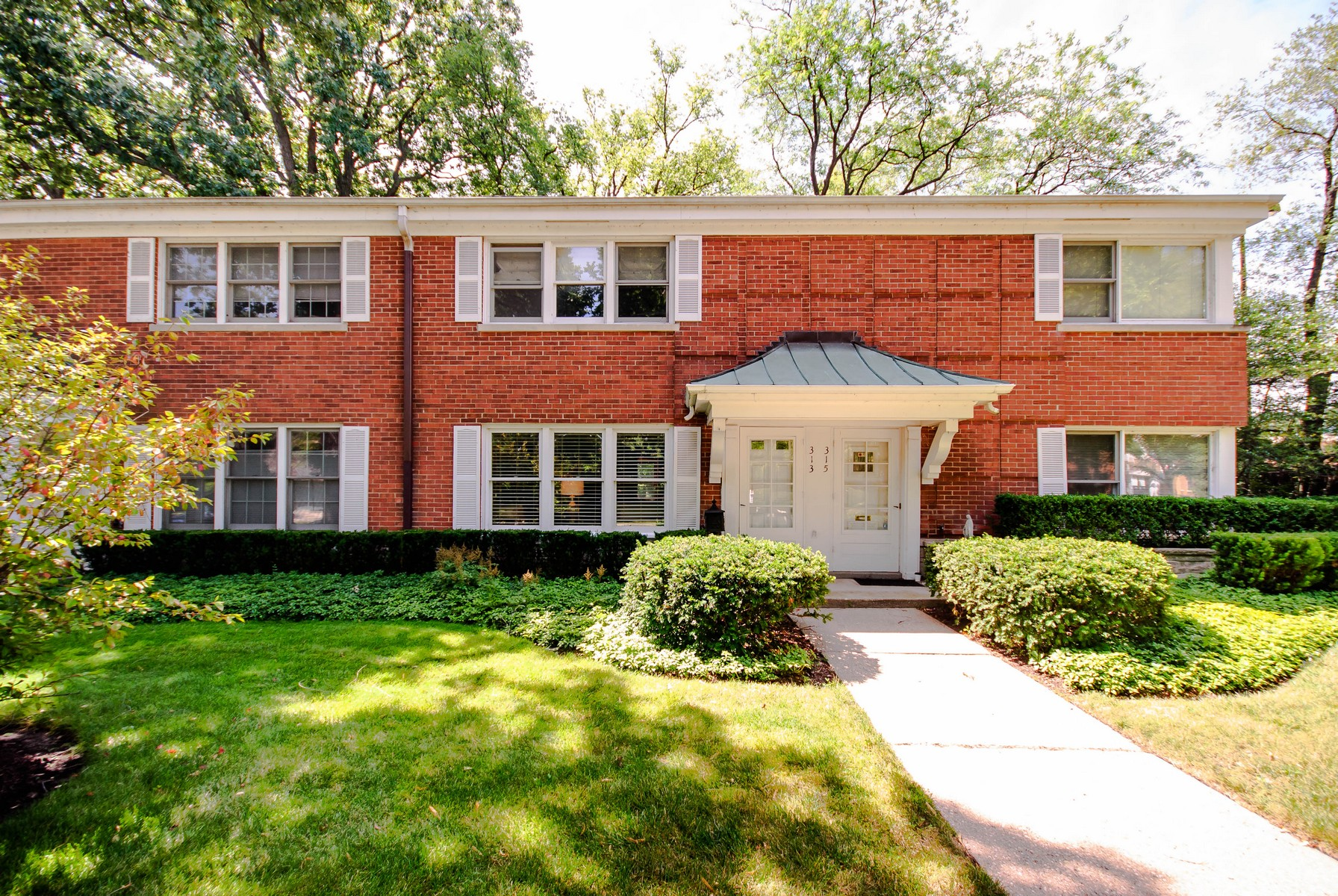 Property For Sale at Rarely Available Brick Townhouse In Wilmette