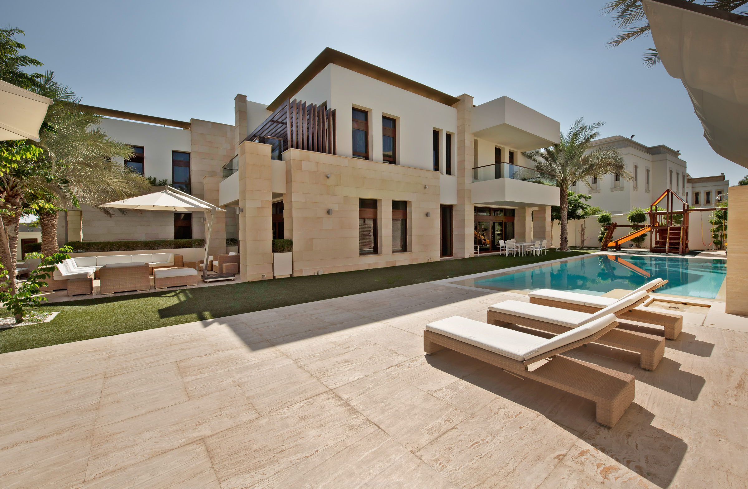 Multi-Family Home for Sale at Modern Lake View Emirates Hills Villa Emirates Hills, Dubai, United Arab Emirates