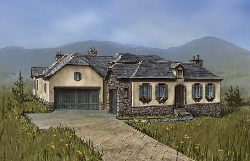 Einfamilienhaus für Verkauf beim French Country home with one of the most livable floor plans 8049 Galileo Way Littleton, Colorado, 80125 Vereinigte Staaten