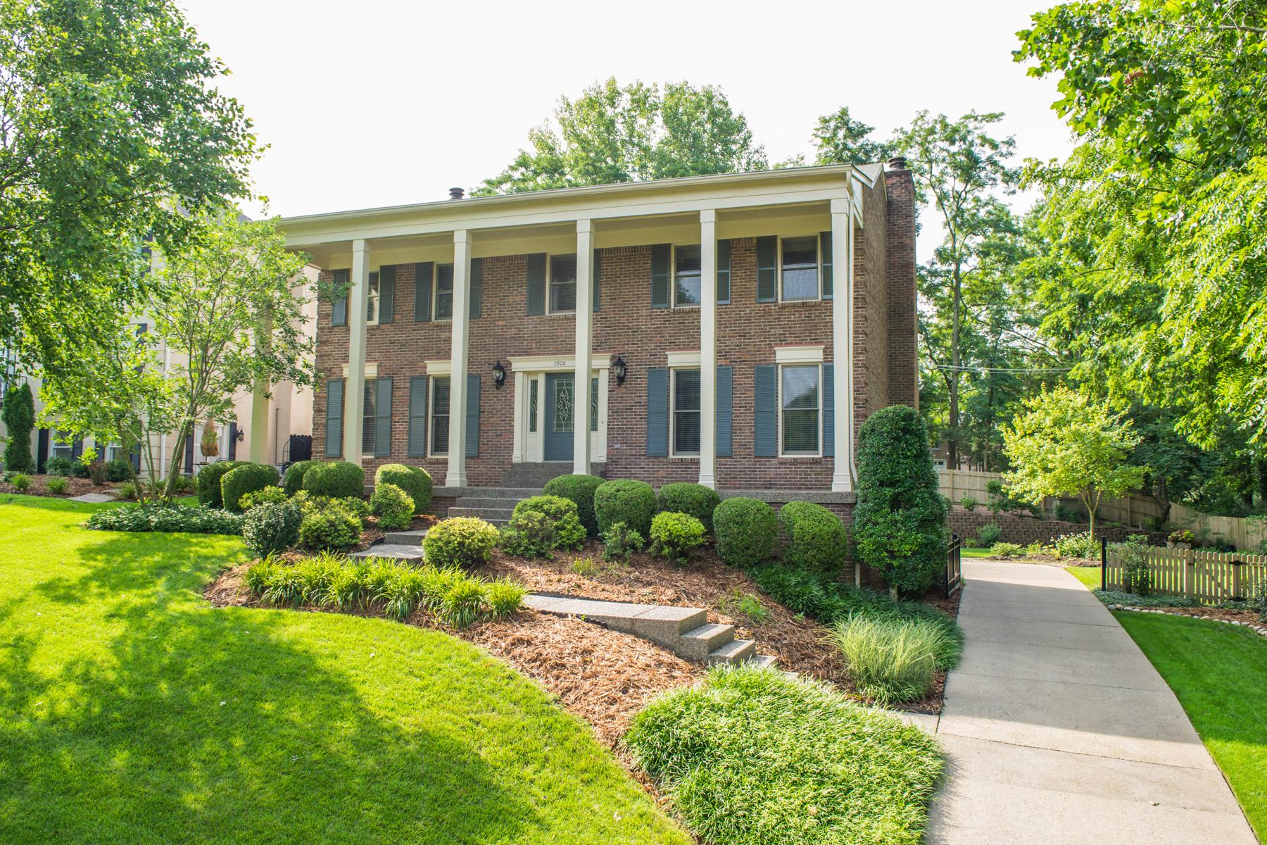 Maison unifamiliale pour l Vente à 7900 Montero Drive Prospect, Kentucky 40059 États-Unis