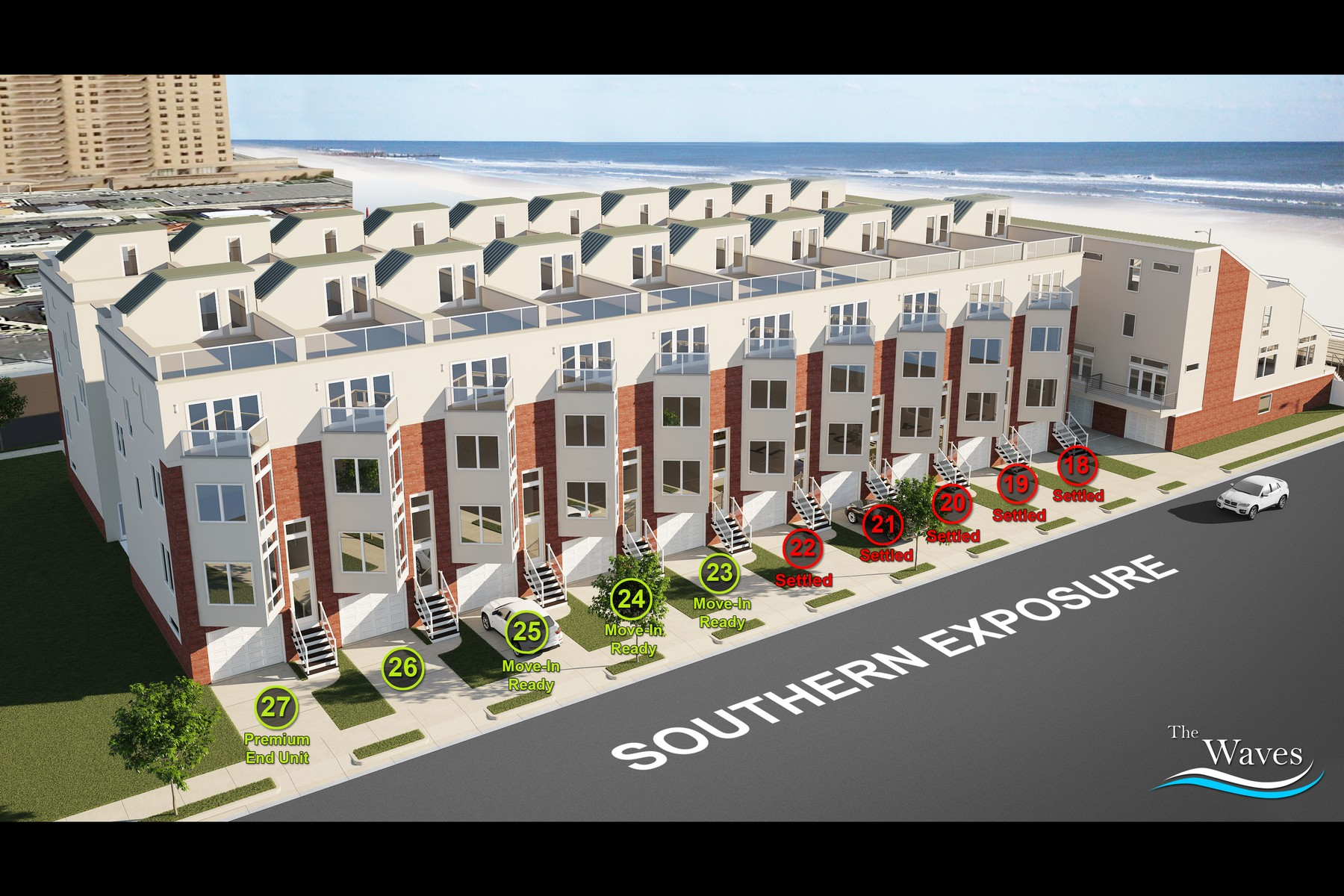 Townhouse for Sale at The Waves 5206 Boardwalk UNIT 26 Ventnor, New Jersey 08406 United States