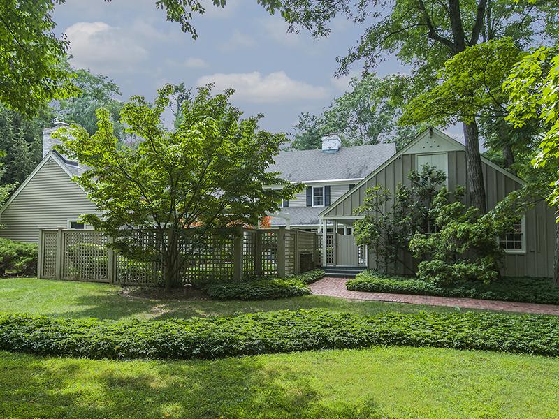 Maison unifamiliale pour l Vente à A Sanctuary On Nelson Ridge - Hopewell Township 14 Nelson Ridge Road Princeton, New Jersey 08540 États-Unis