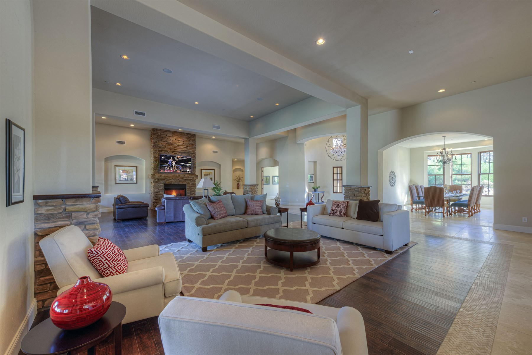 Single Family Home for Sale at Fabulous custom home never-before-lived in 11926 E LA POSADA CIR Scottsdale, Arizona 85255 United States