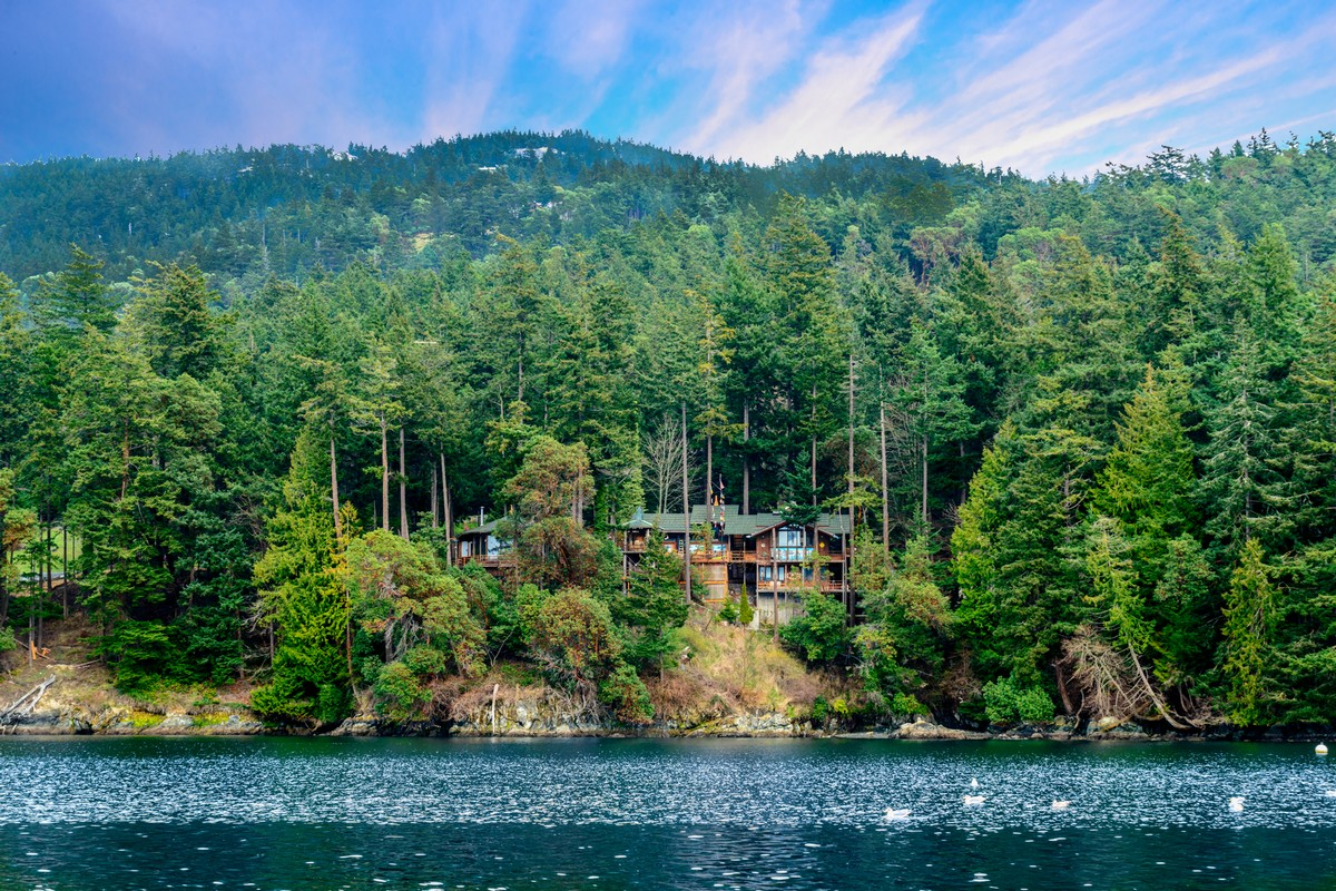 Property For Sale at Orcas Island Museum Home with Beach