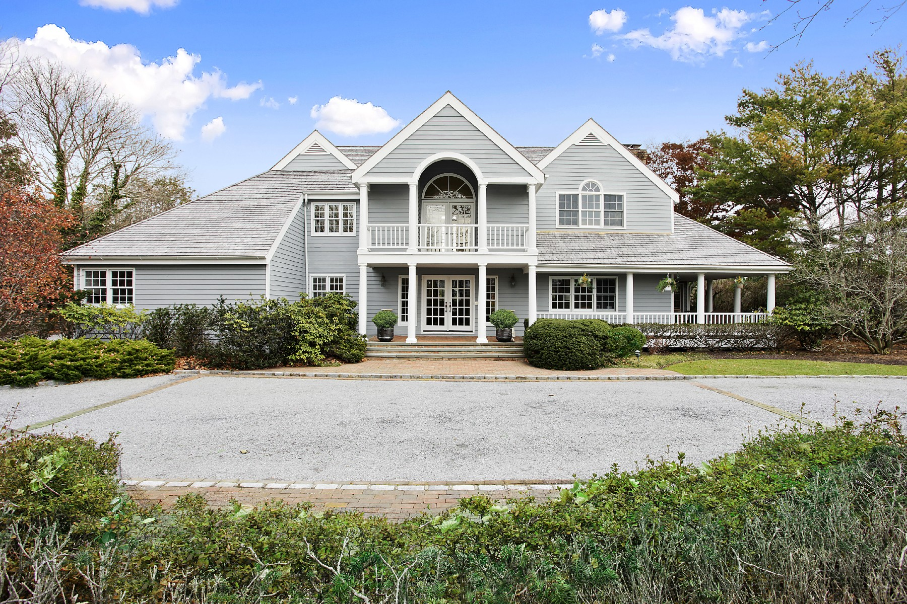 rentals property at Westhampton Beach Estate With Pool and Tennis