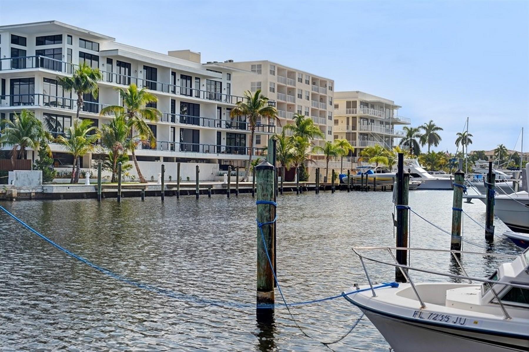 联栋屋 为 销售 在 424 Hendricks Isle Unit# 6 劳德代尔堡, 佛罗里达州 33301 美国