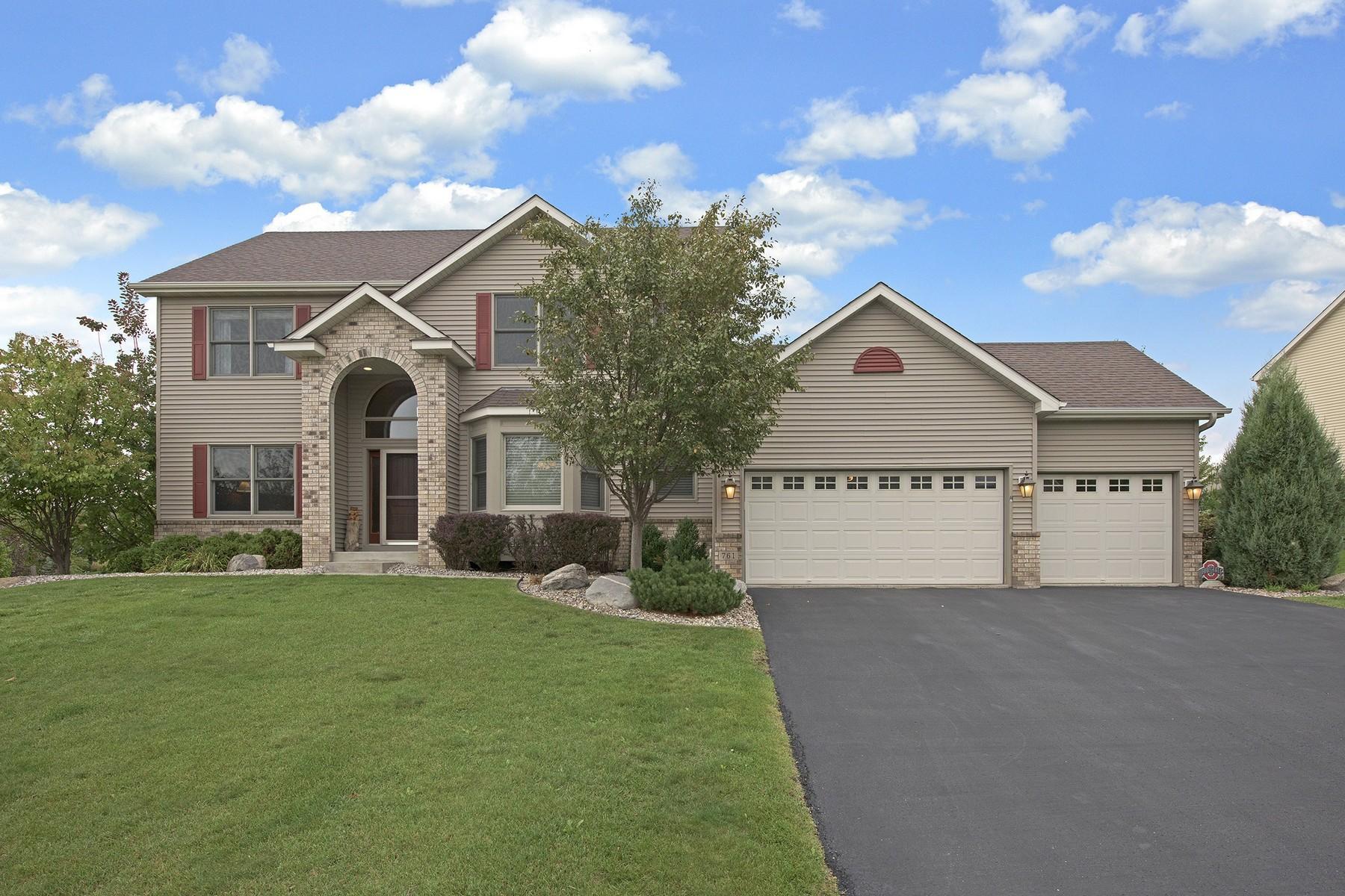 Maison unifamiliale pour l Vente à 761 Applewood Circle Victoria, Minnesota 55386 États-Unis