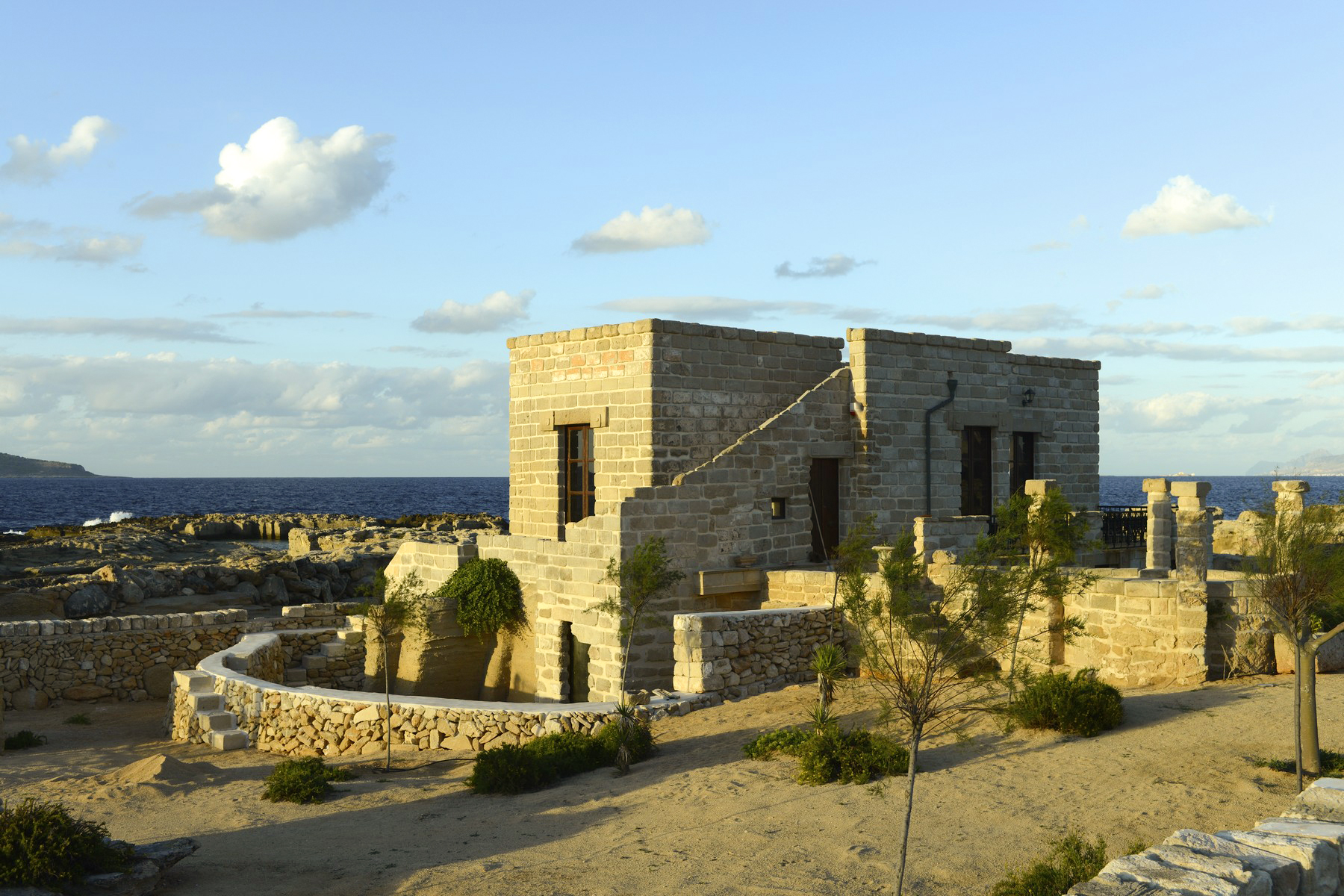 Additional photo for property listing at Villa with direct access to the sea Favignana, Trapani Italy