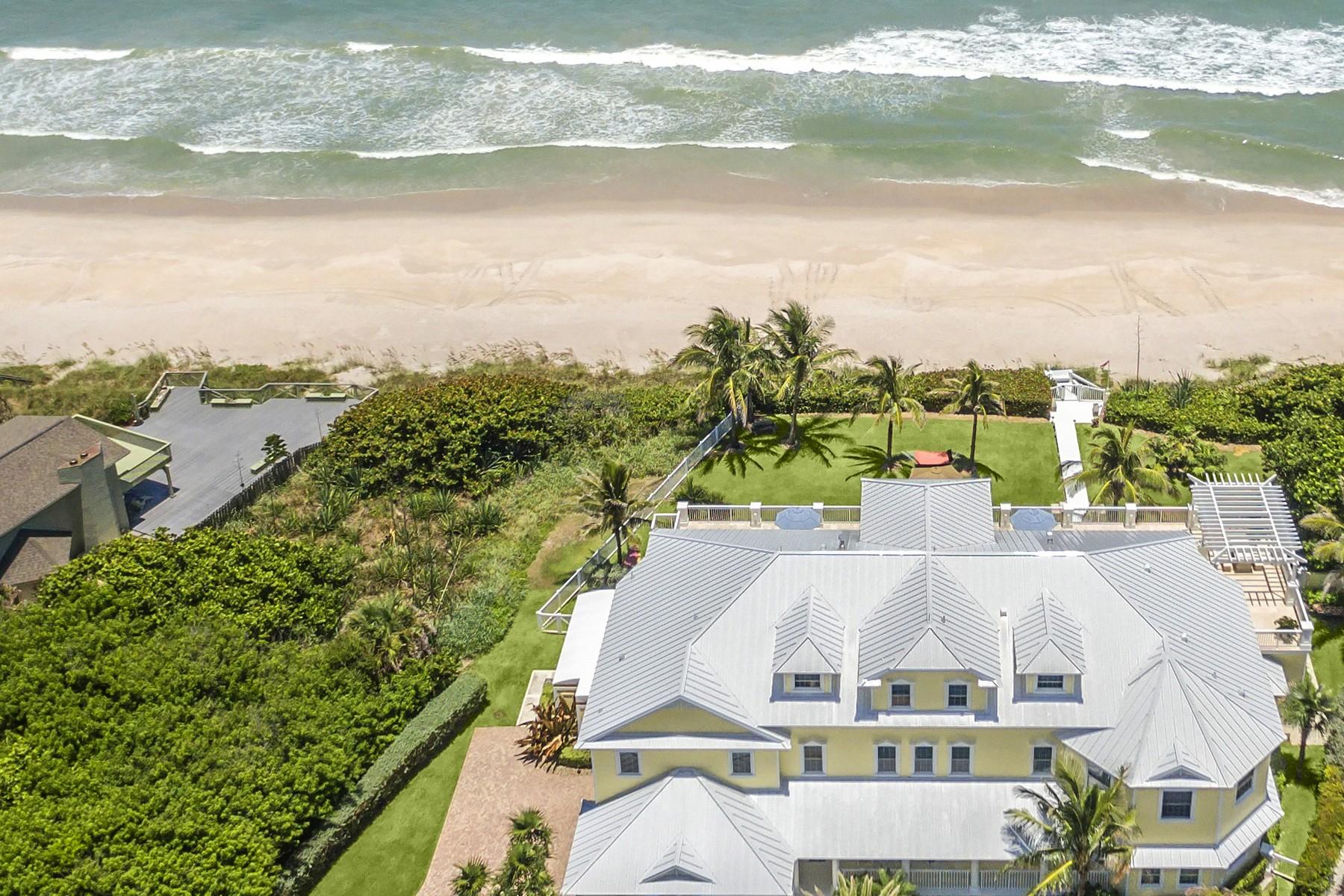 Casa para uma família para Venda às 5045 Highway A1A Melbourne Beach, Florida, 32951 Estados Unidos