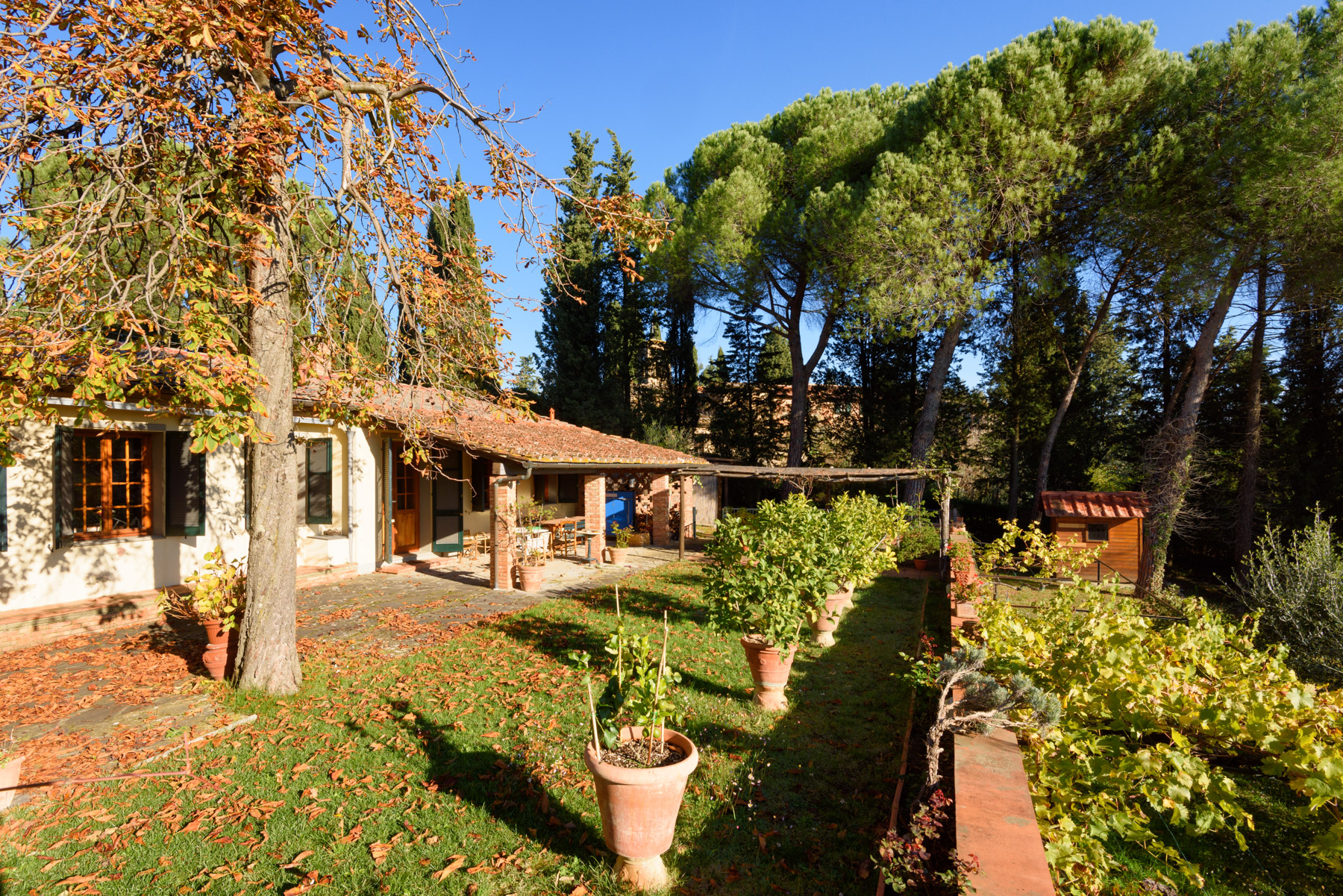 Single Family Home for Sale at Marvelous villa in the Chianti countryside Via di Pancole Greve In Chianti, 50022 Italy