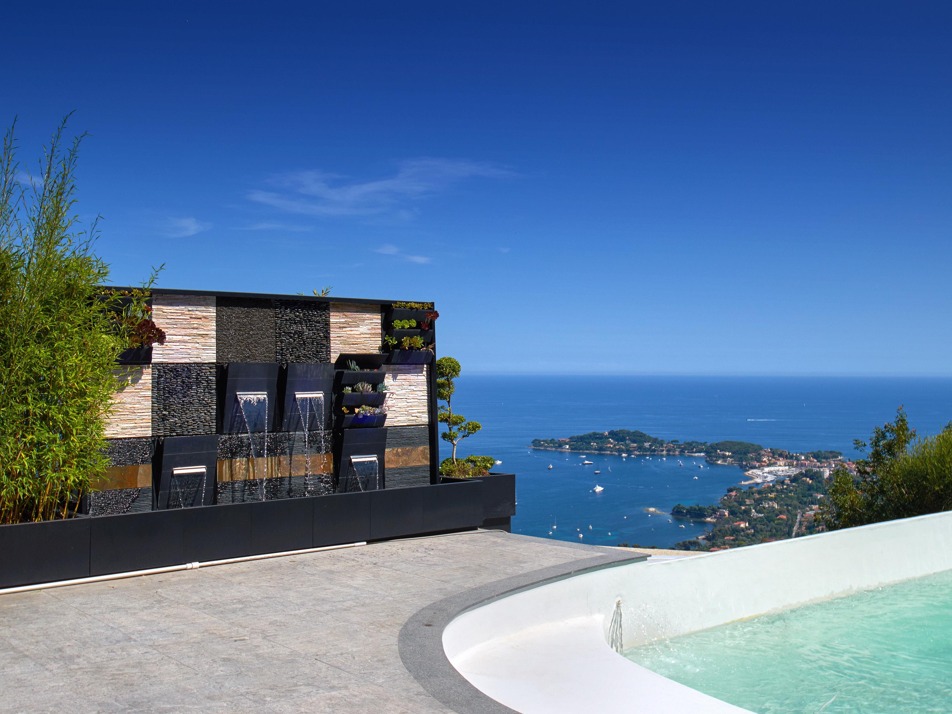 단독 가정 주택 용 매매 에 Beautiful contemporary villa with panoramic sea views Villefranche sur Mer Villefranche Sur Mer, 프로벤스 앞ㄹ프스 코테 D'Azur 06230 프랑스